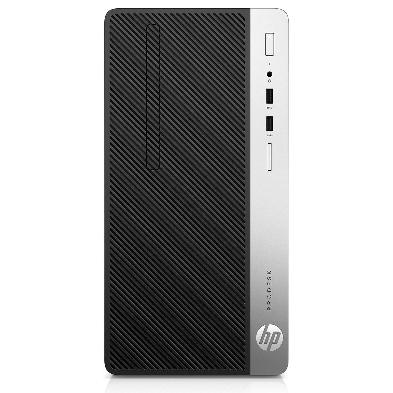 e659f22e699820 HP ProDesk 400 G4 Compact (1QM22EA) - PC de bureau HP sur LDLC.com