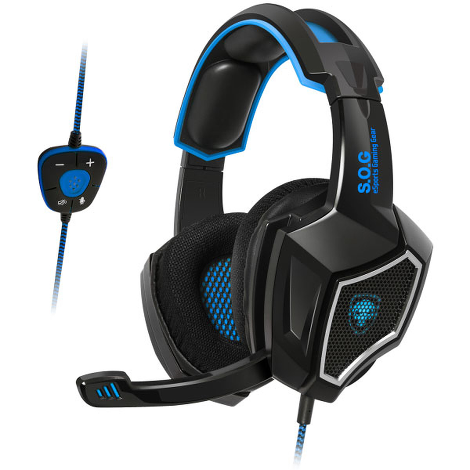 Spirit of Gamer Xpert-H500 Bleu