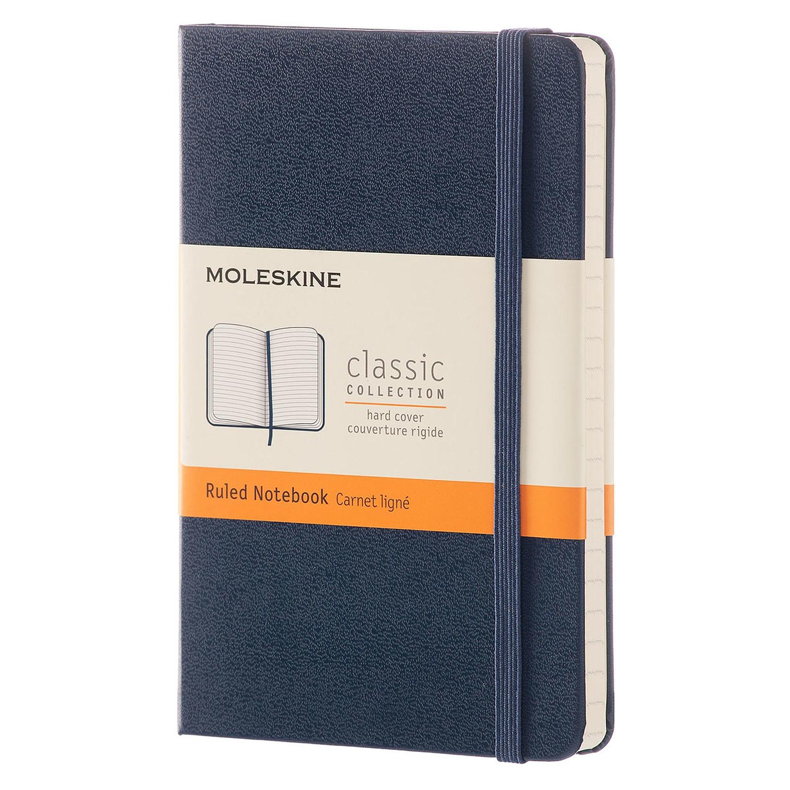 Moleskine Classic Hardcover Pocket Ruled Bleu