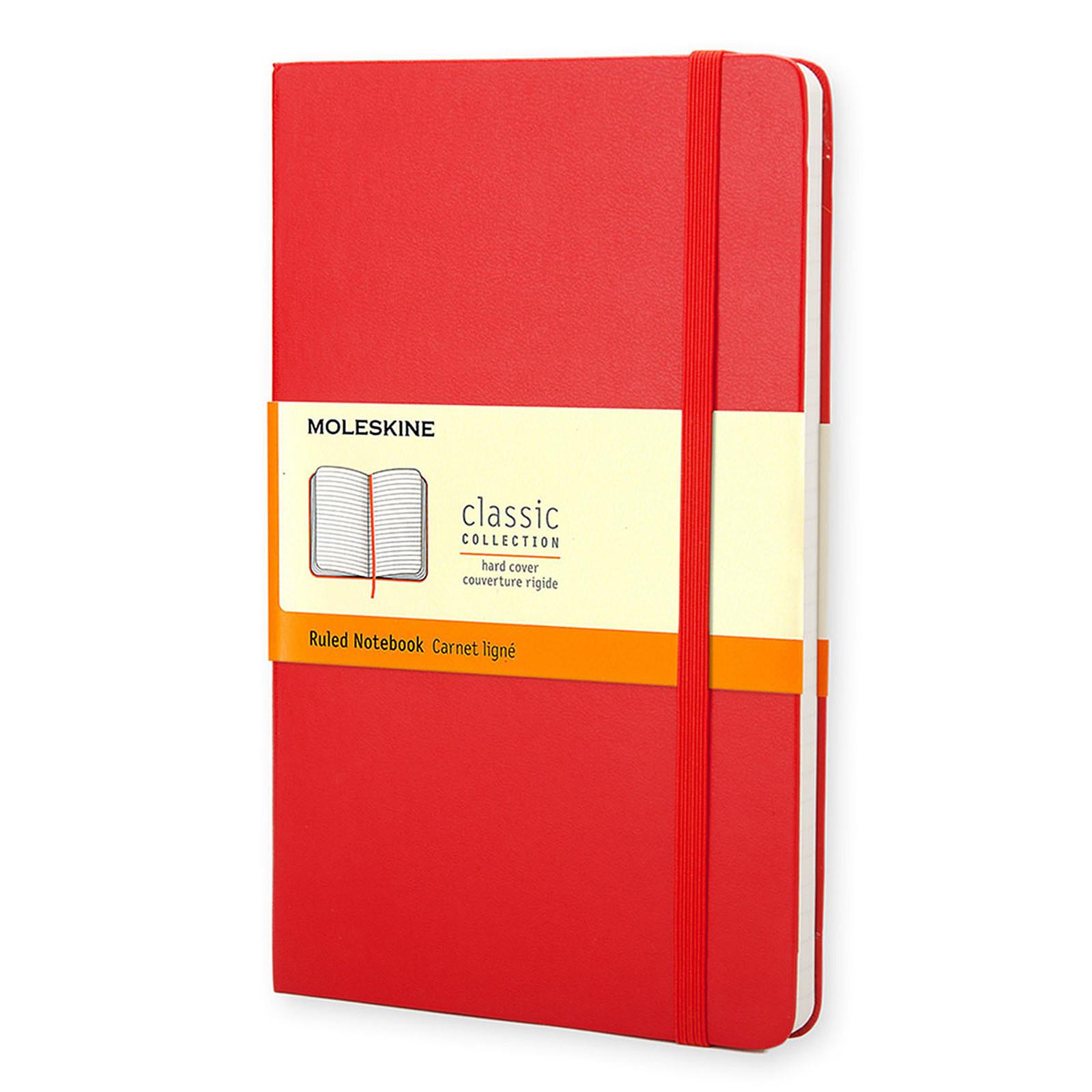 Moleskine Classic Hardcover Pocket Ruled Rouge