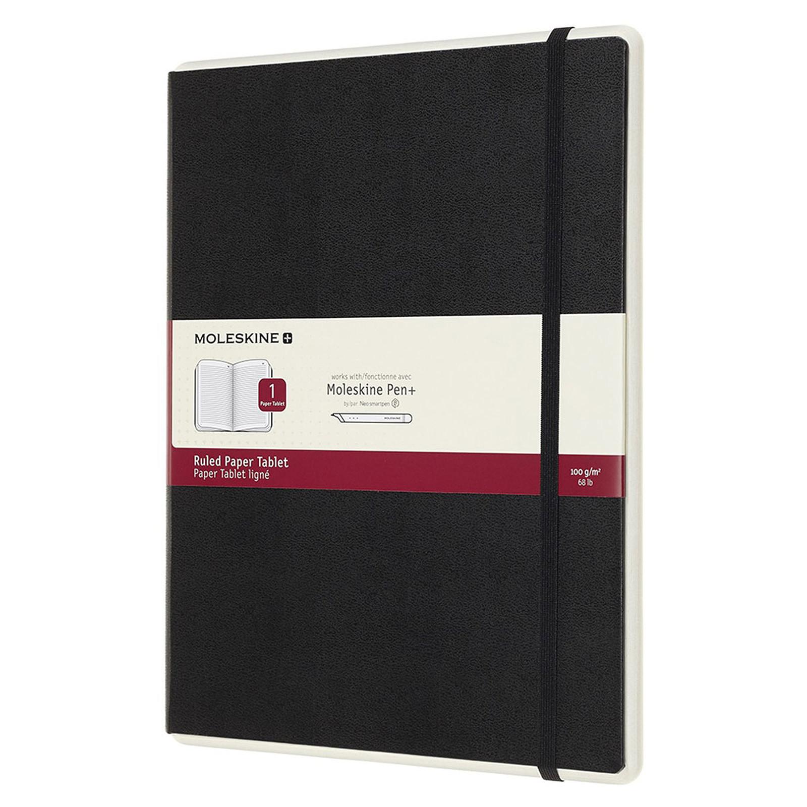 Moleskine Paper Tablet Hardcover XL Ruled Noir