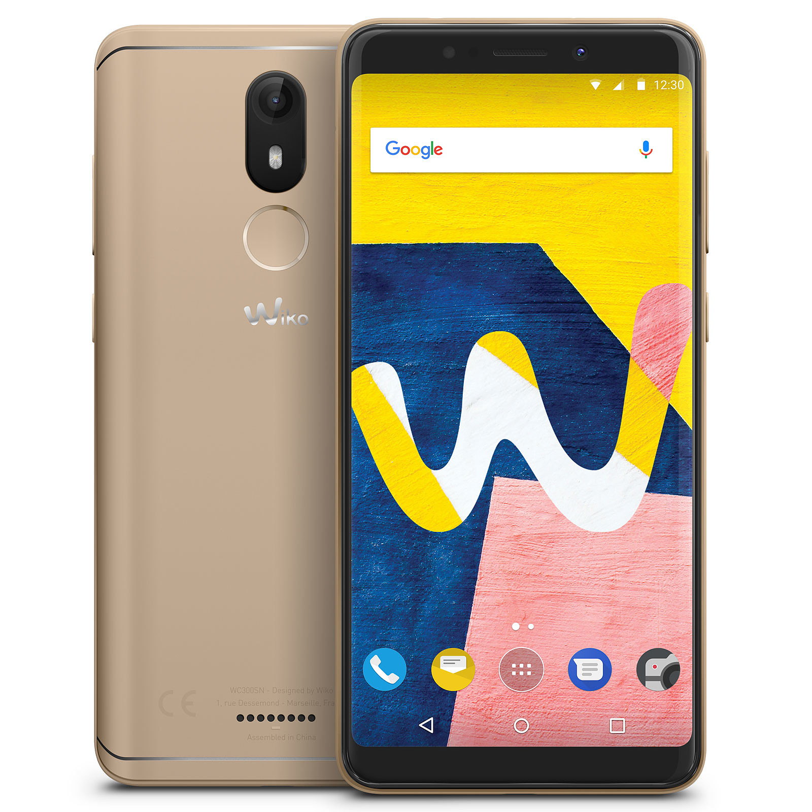 Wiko View Lite 16 Go Or