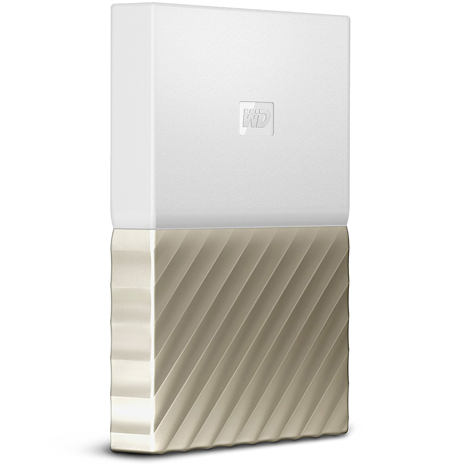 WD My Passport Ultra 1 To Blanc-Doré (USB 3.0)