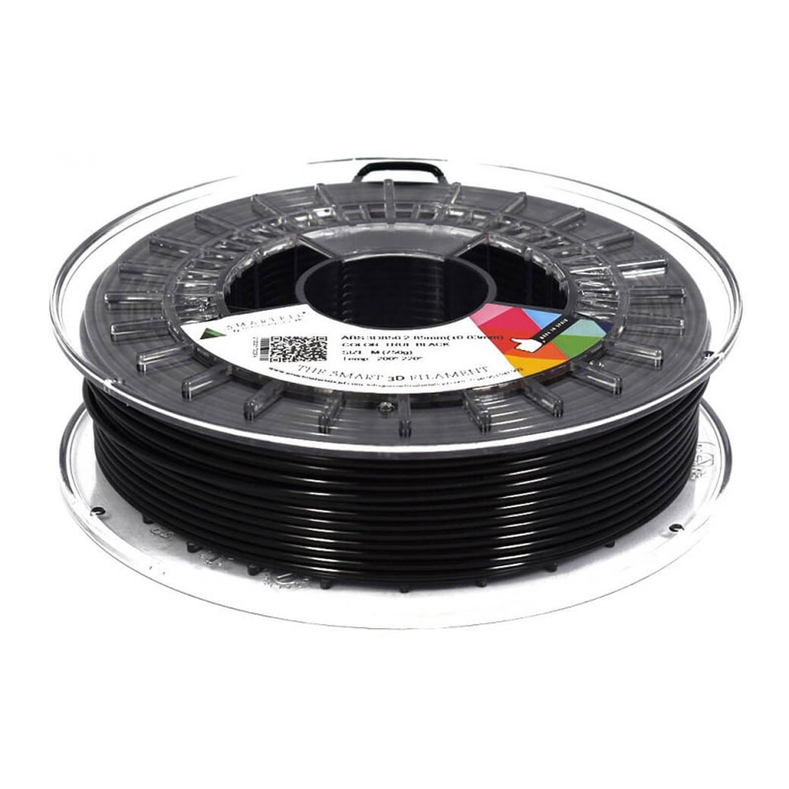 Smartfil Bobine ABS 2.85mm 750g - Noir