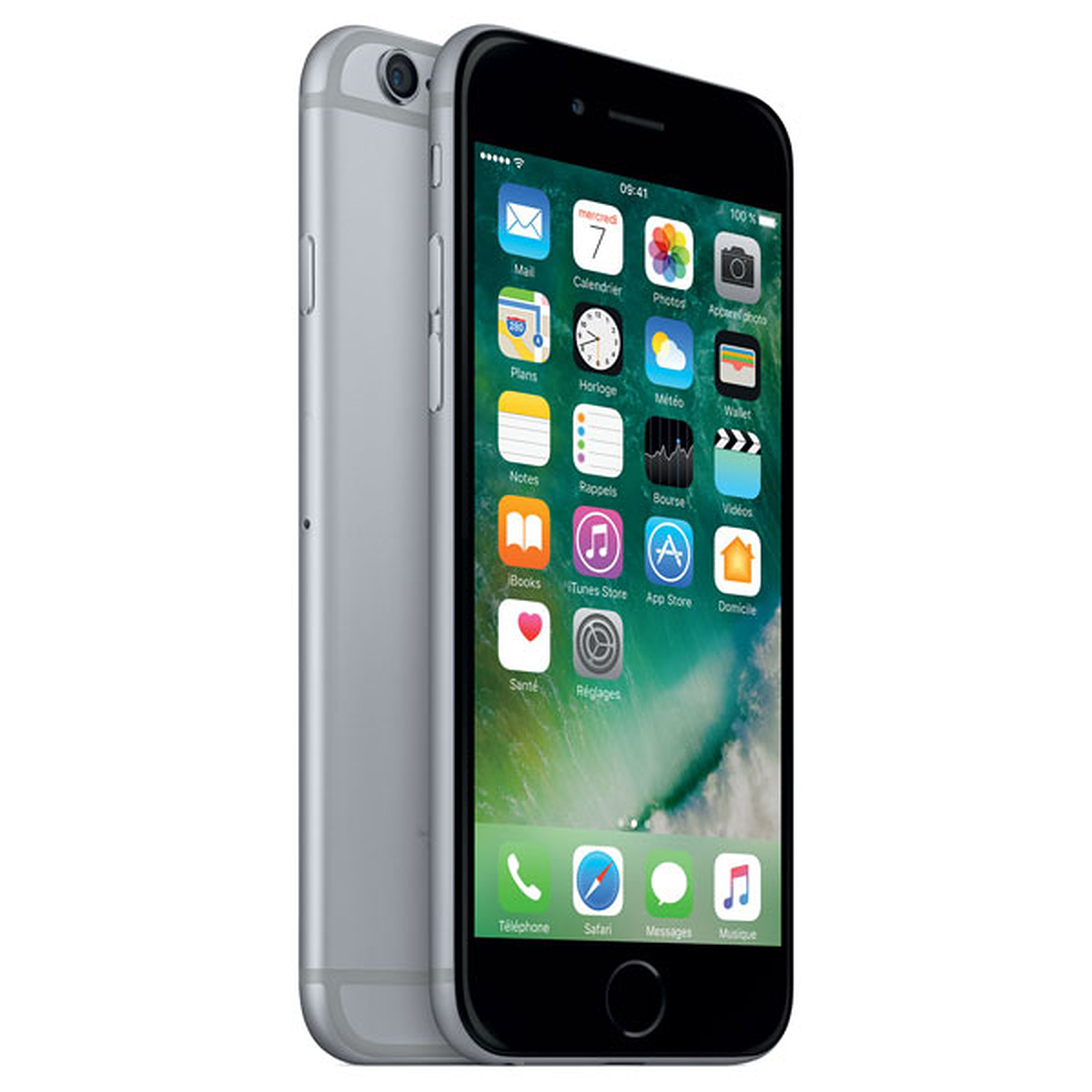 Remade iPhone 6 16 GB Side Grey (Grado A+)