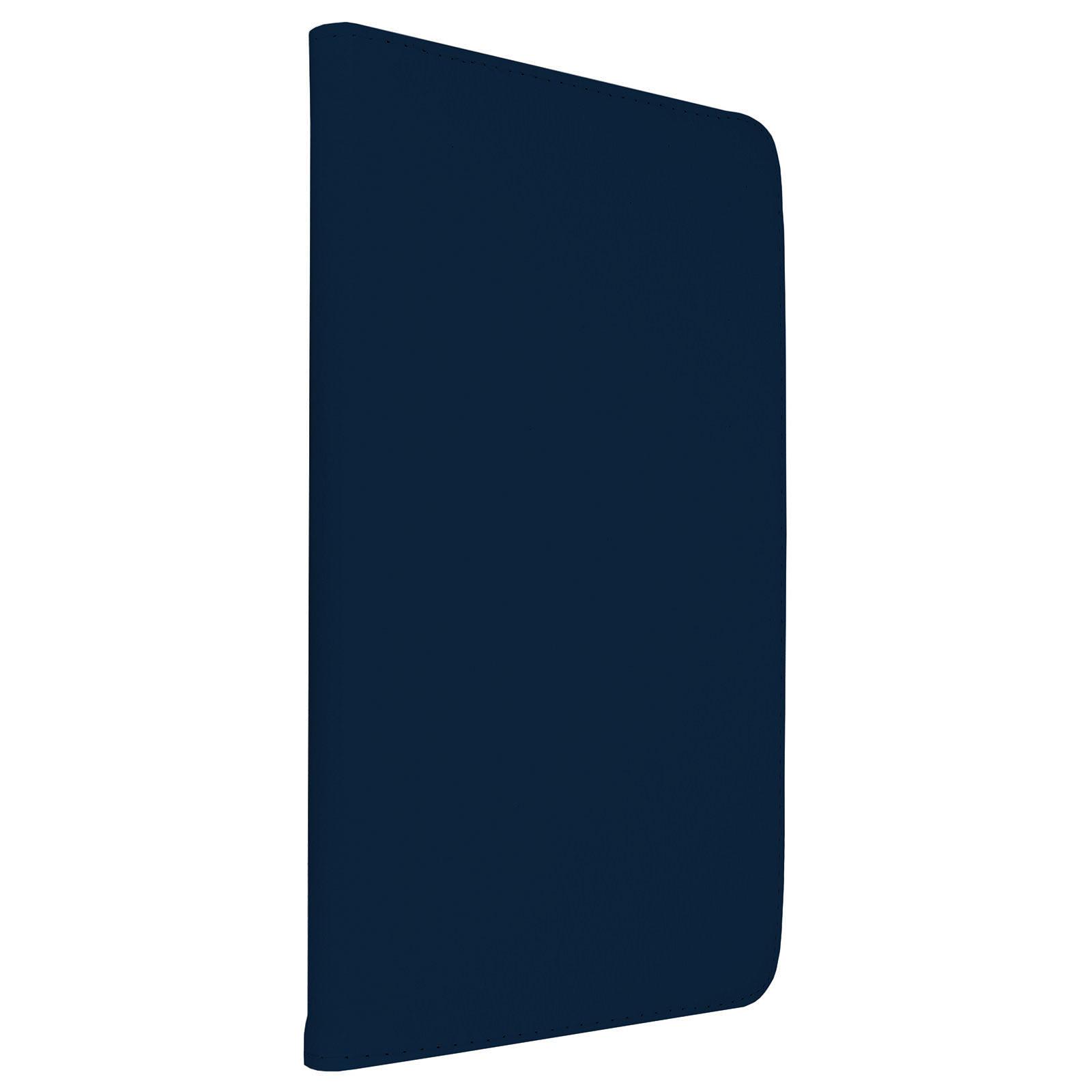 """Akashi Etui Folio Galaxy Tab A6 10.1"""" Bleu marine"""
