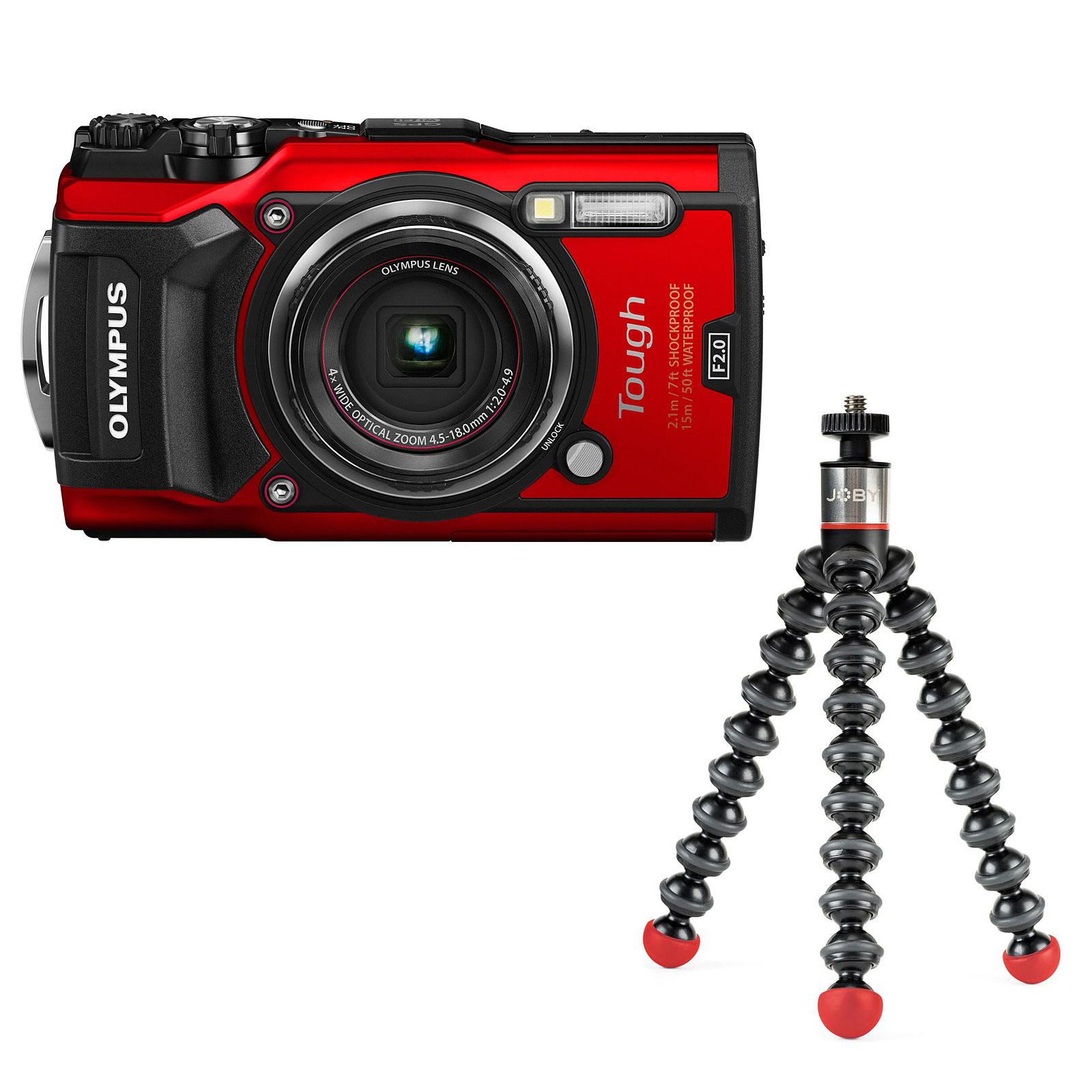 Olympus TG-5 Rouge + Joby GorillaPod Magnetic 325