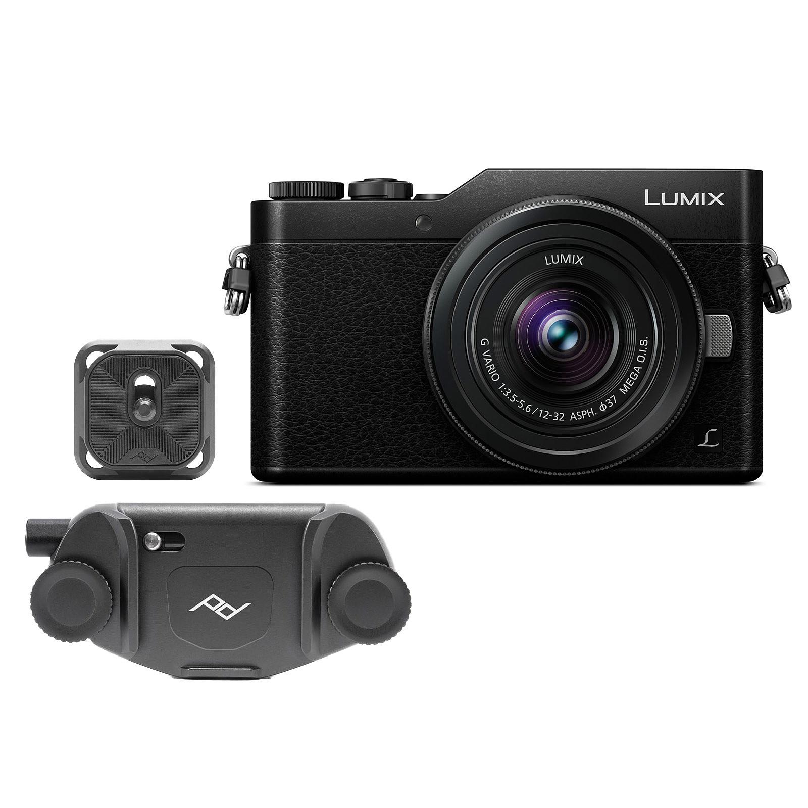 Panasonic Lumix DC-GX800 Noir + 12-32 mm + Peak Design Capture v3 Noir