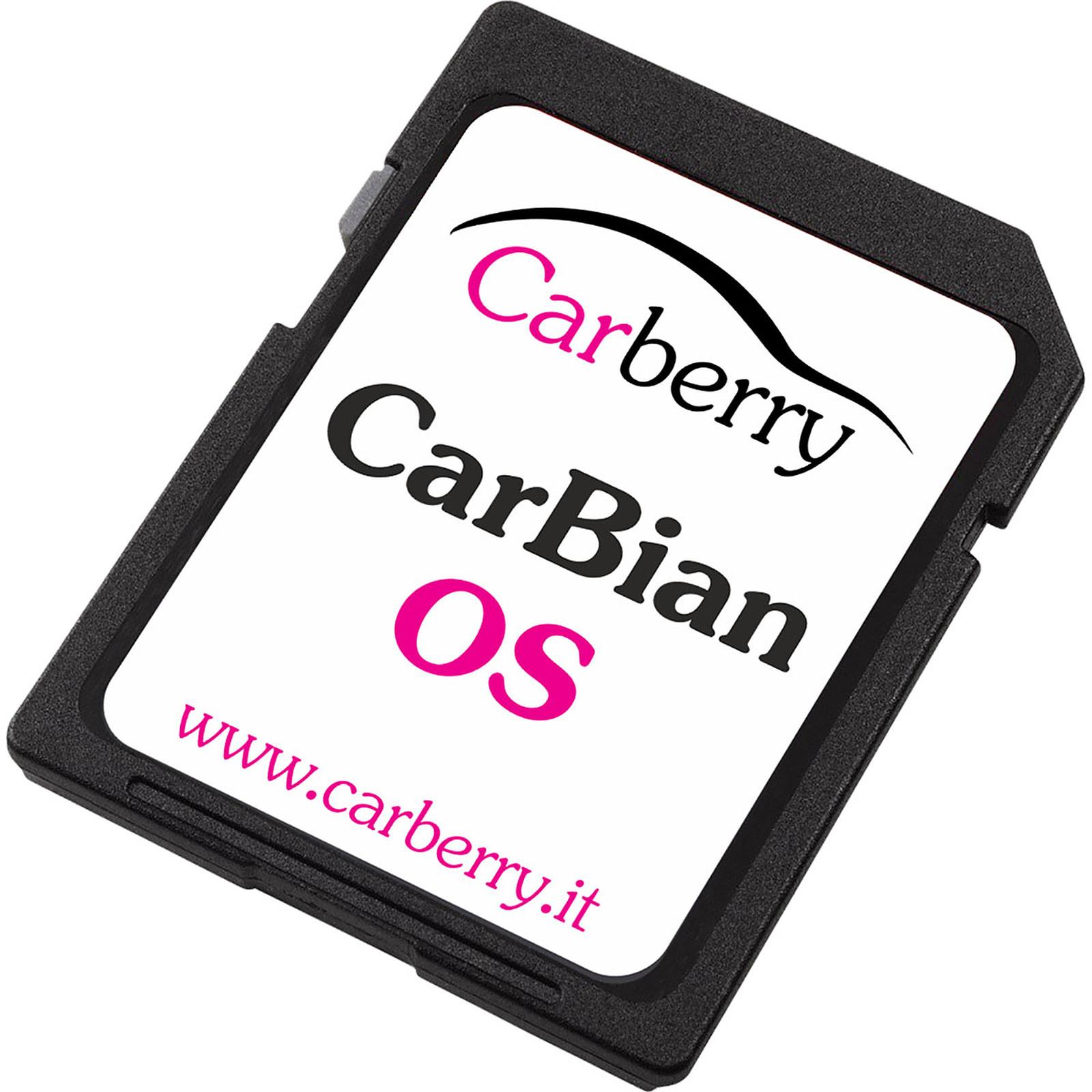 Carberry carte microSDHC 16 Go avec CarBian OS