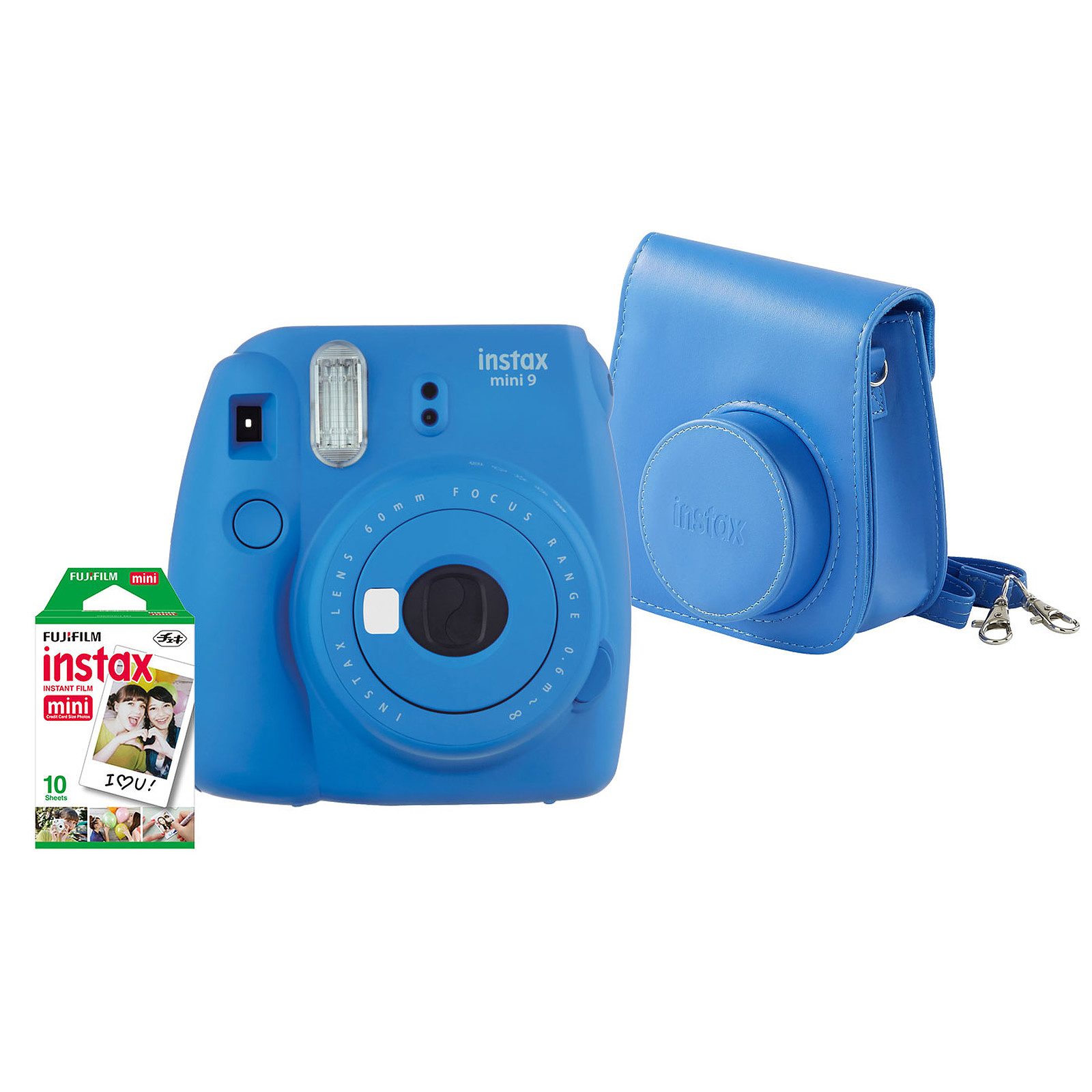 Fujifilm Pack instax mini 9 Bleu