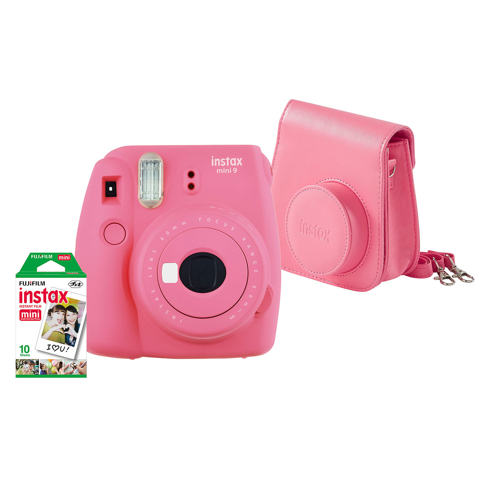 Fujifilm Pack instax mini 9 Rose