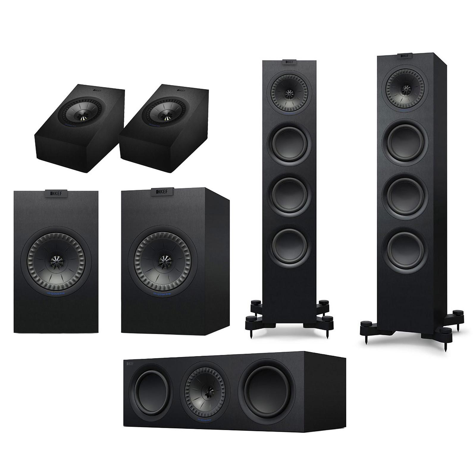 KEF Q550 System Atmos Noir
