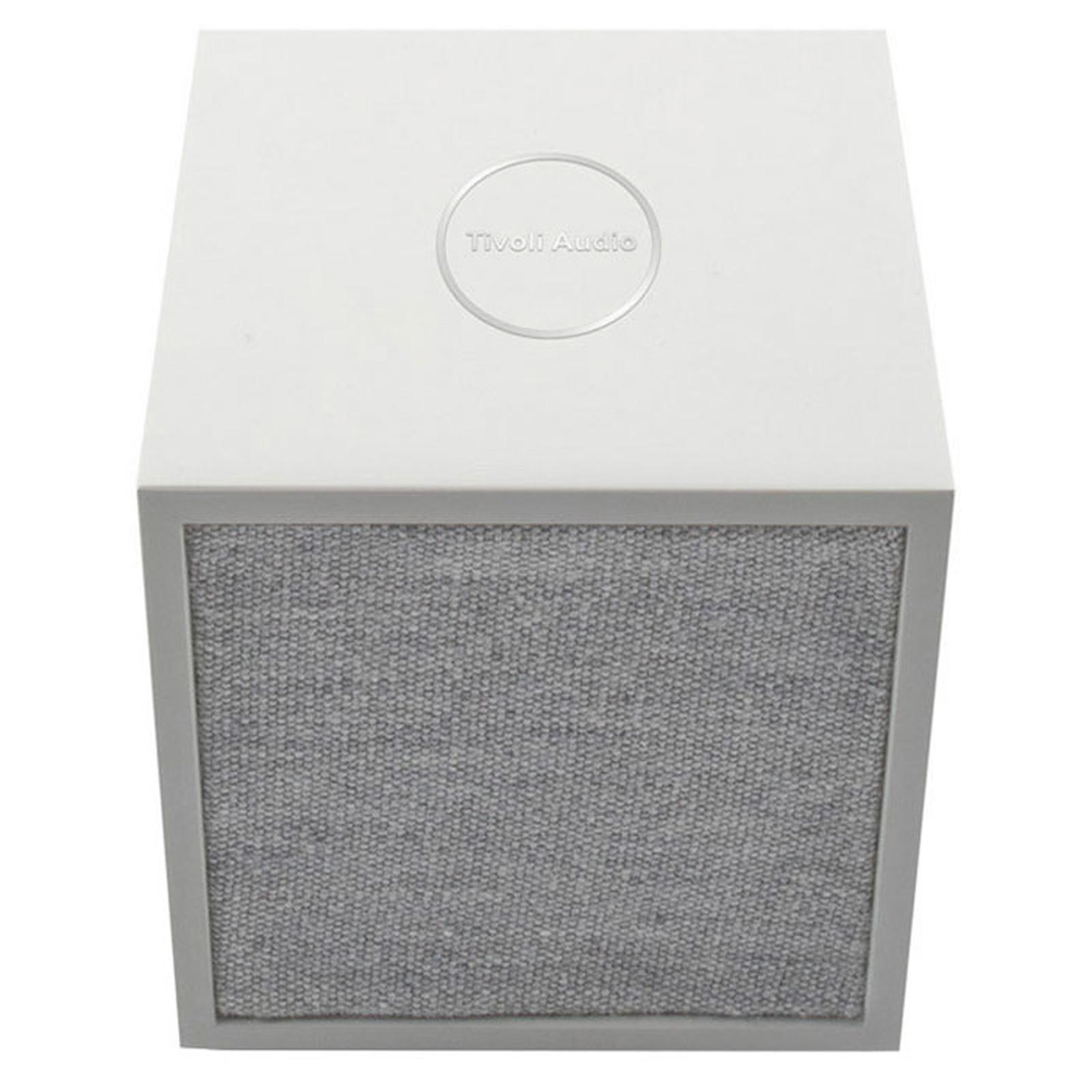 Tivoli Audio Cube Blanc / Gris