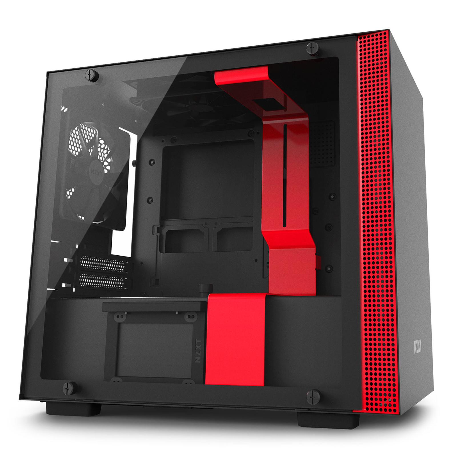 NZXT H200 (noir/rouge)