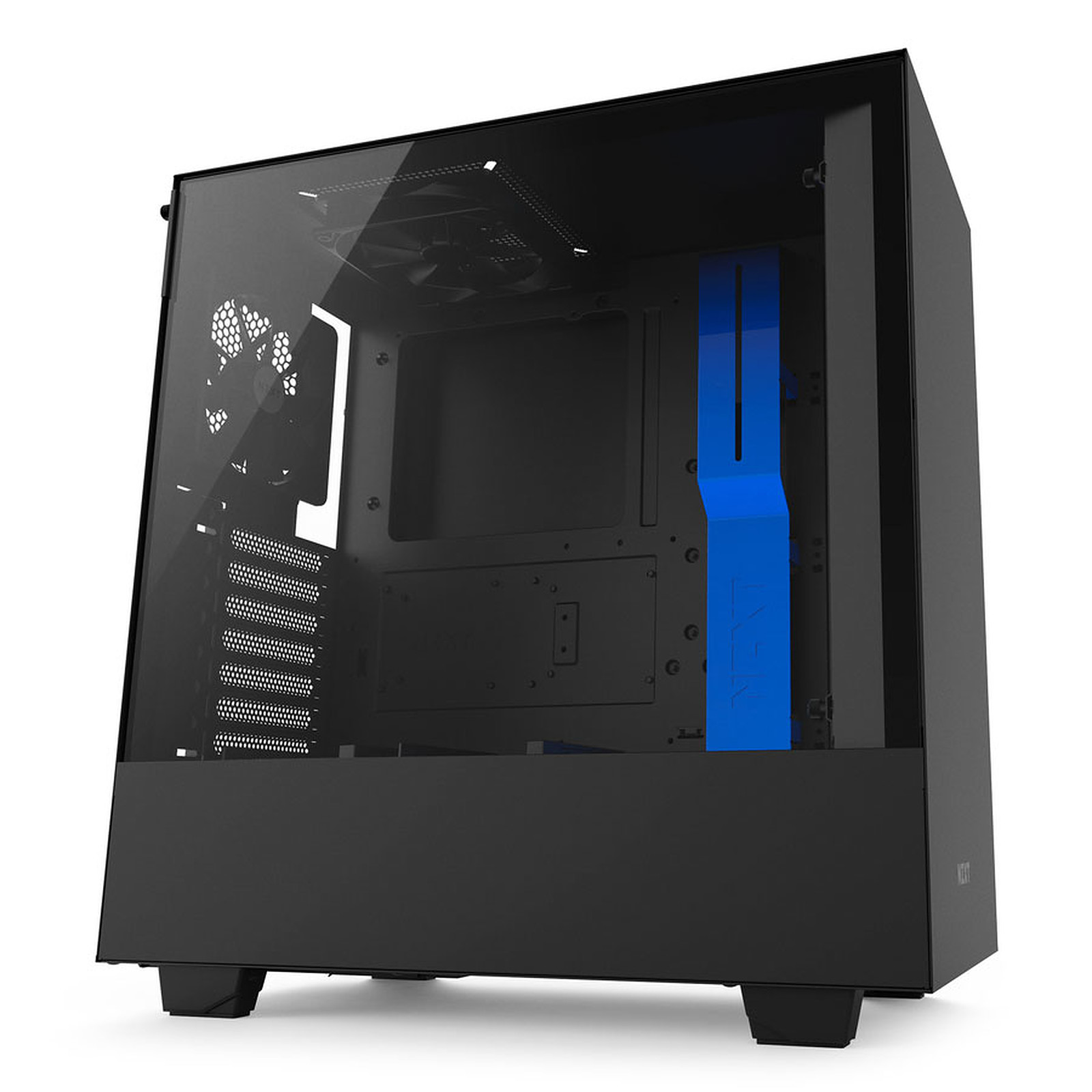 NZXT H500 (noir/bleu)