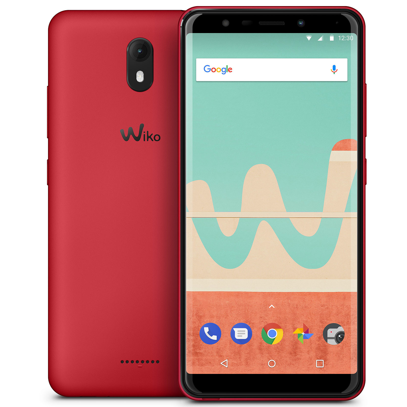 Wiko View Go 16 Go Rouge