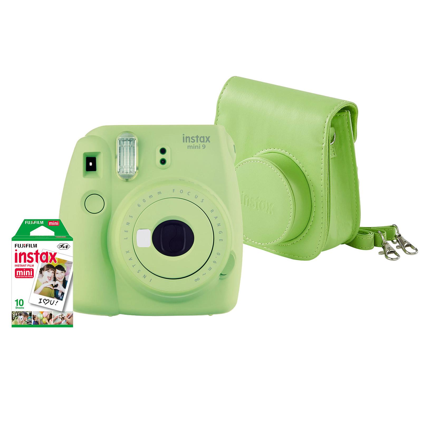 Fujifilm Pack instax mini 9 Vert citron