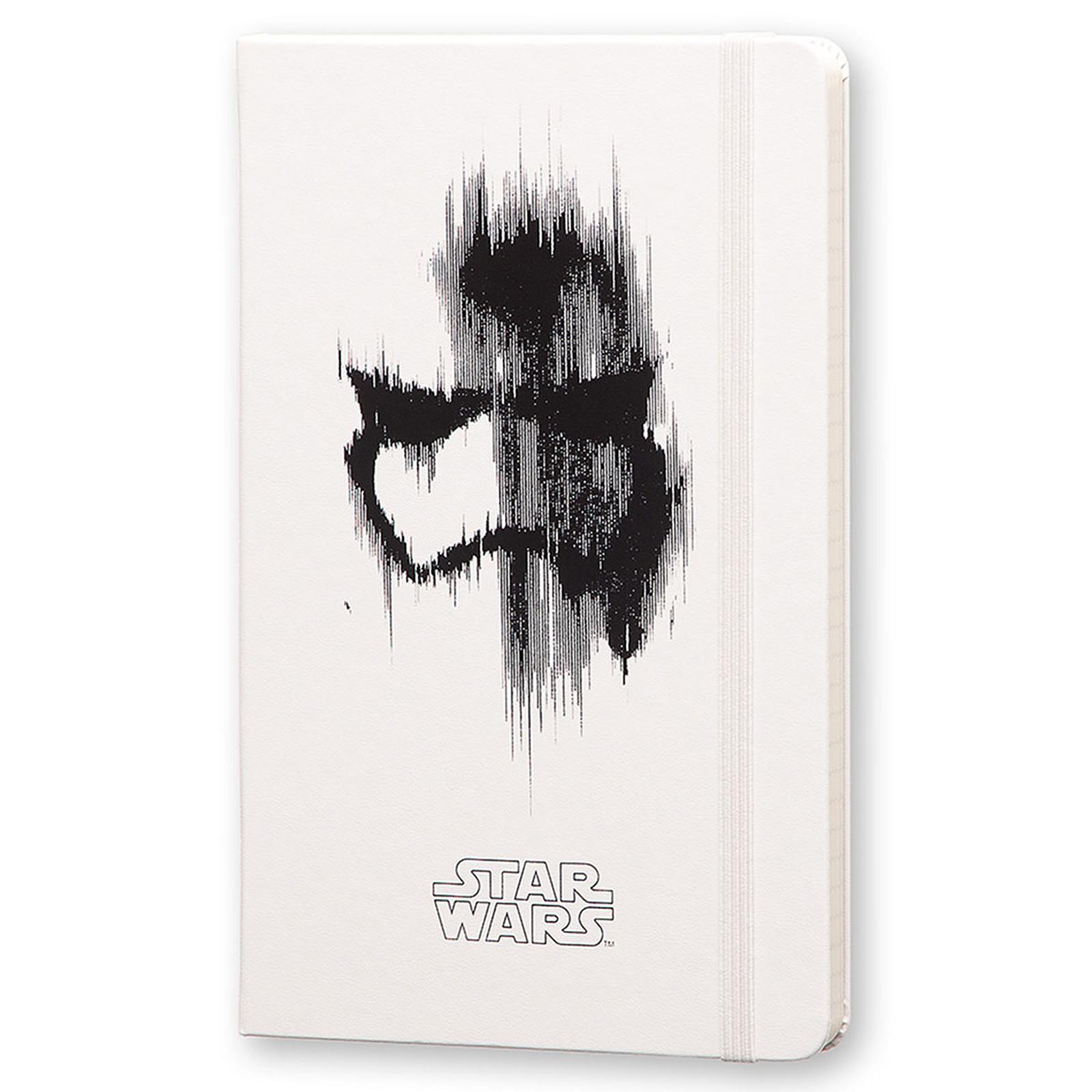 Moleskine Star Wars VII Storm Trooper Large Blanc
