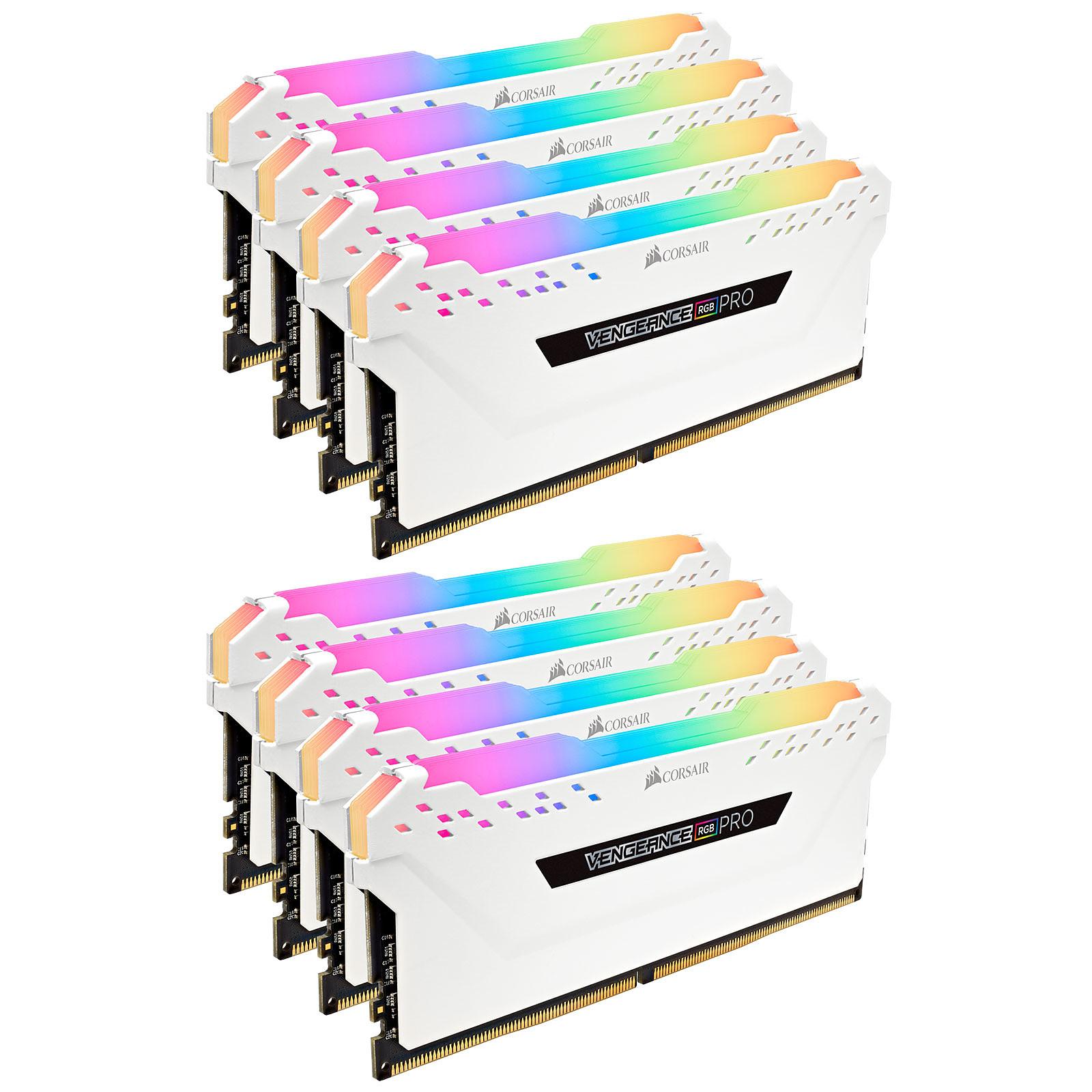 Corsair Vengeance RGB PRO Series 64 Go (8x 8 Go) DDR4 3000 MHz CL15