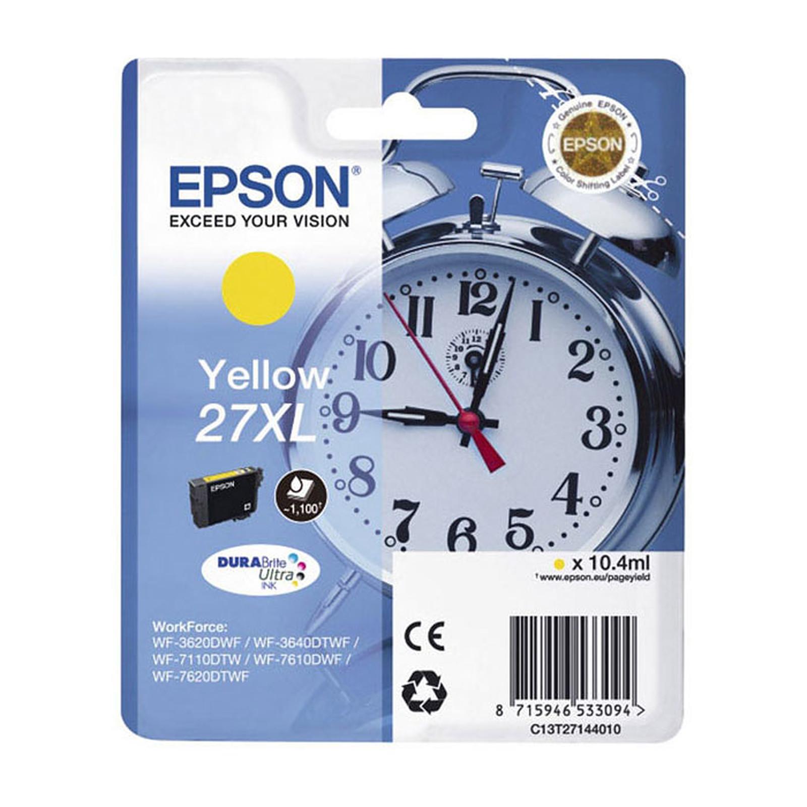 Epson Réveil 27XL Jaune