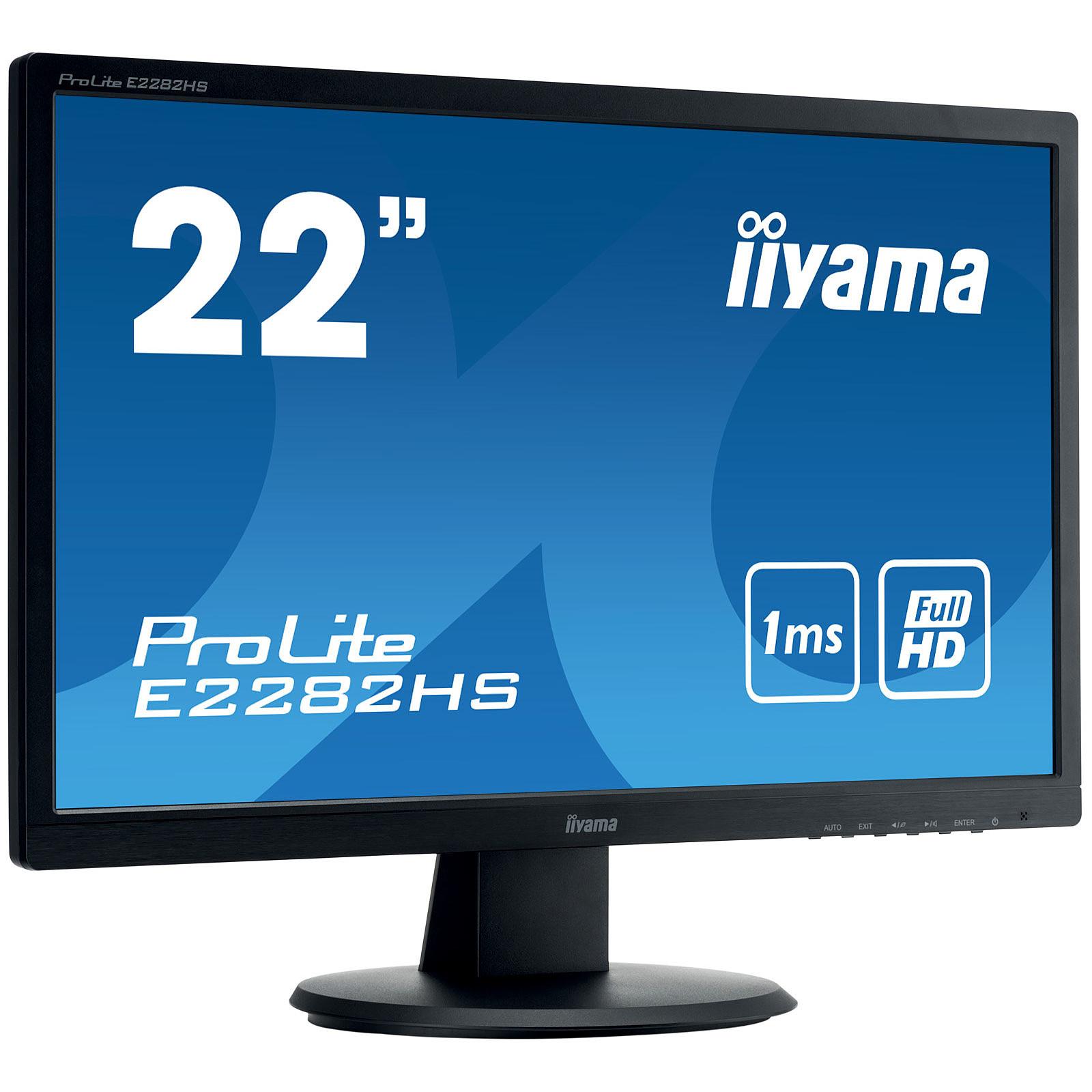 "iiyama 22"" LED - ProLite E2282HS-B1"