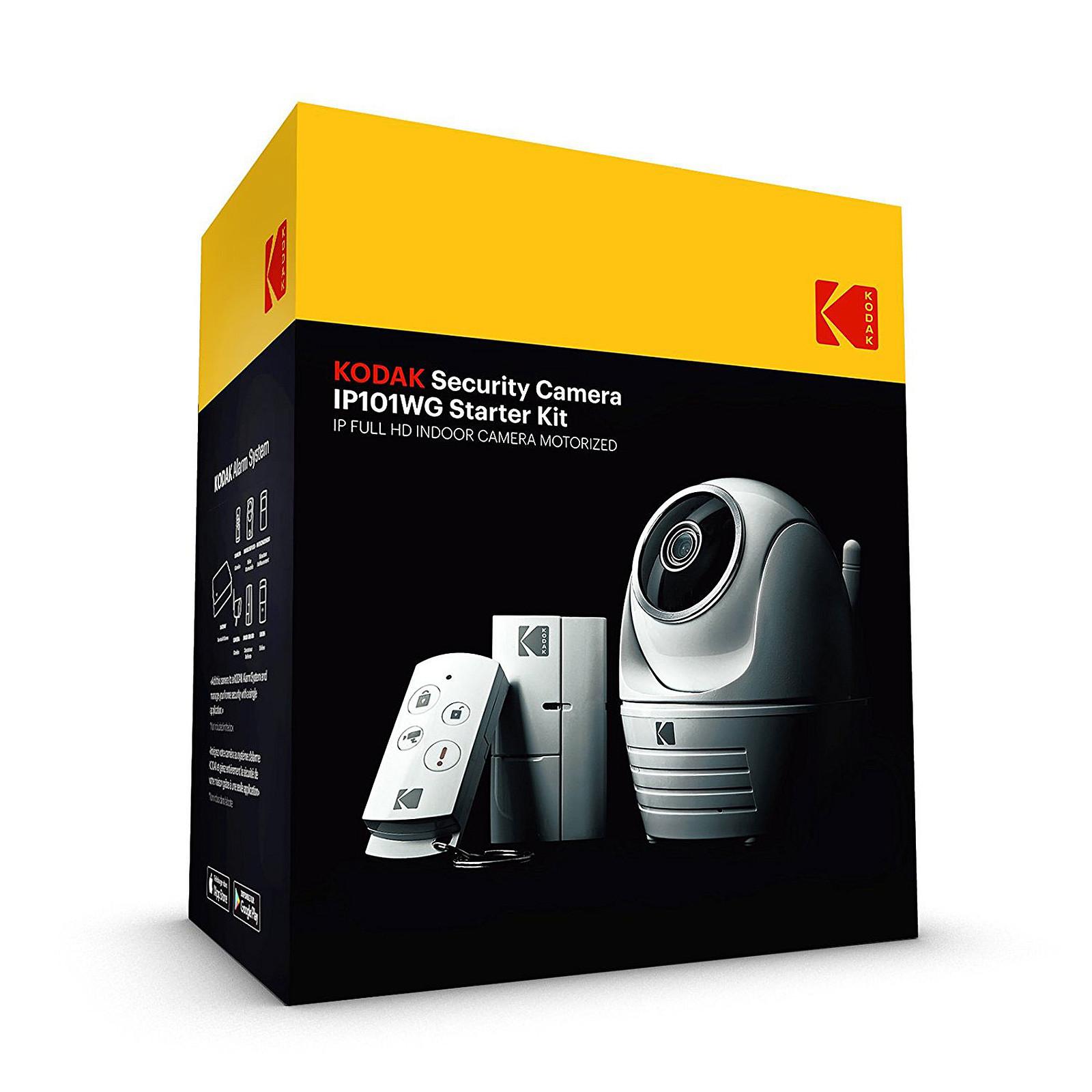 kodak cam ra de s curit ip101wg starter kit cam ra de surveillance kodak sur. Black Bedroom Furniture Sets. Home Design Ideas