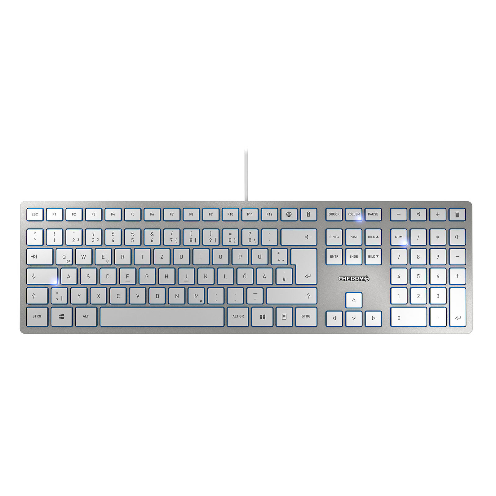 Cherry KC 6000 Slim (argent)