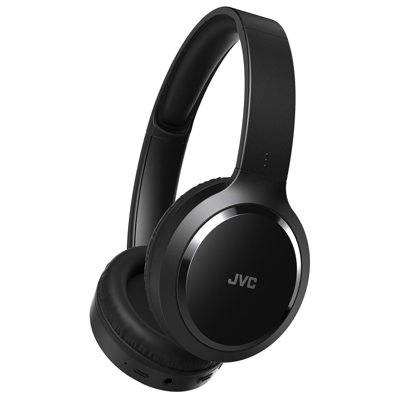 casque bluetooth sans fil à réduction de bruit jvc ha-s80bn-b-e