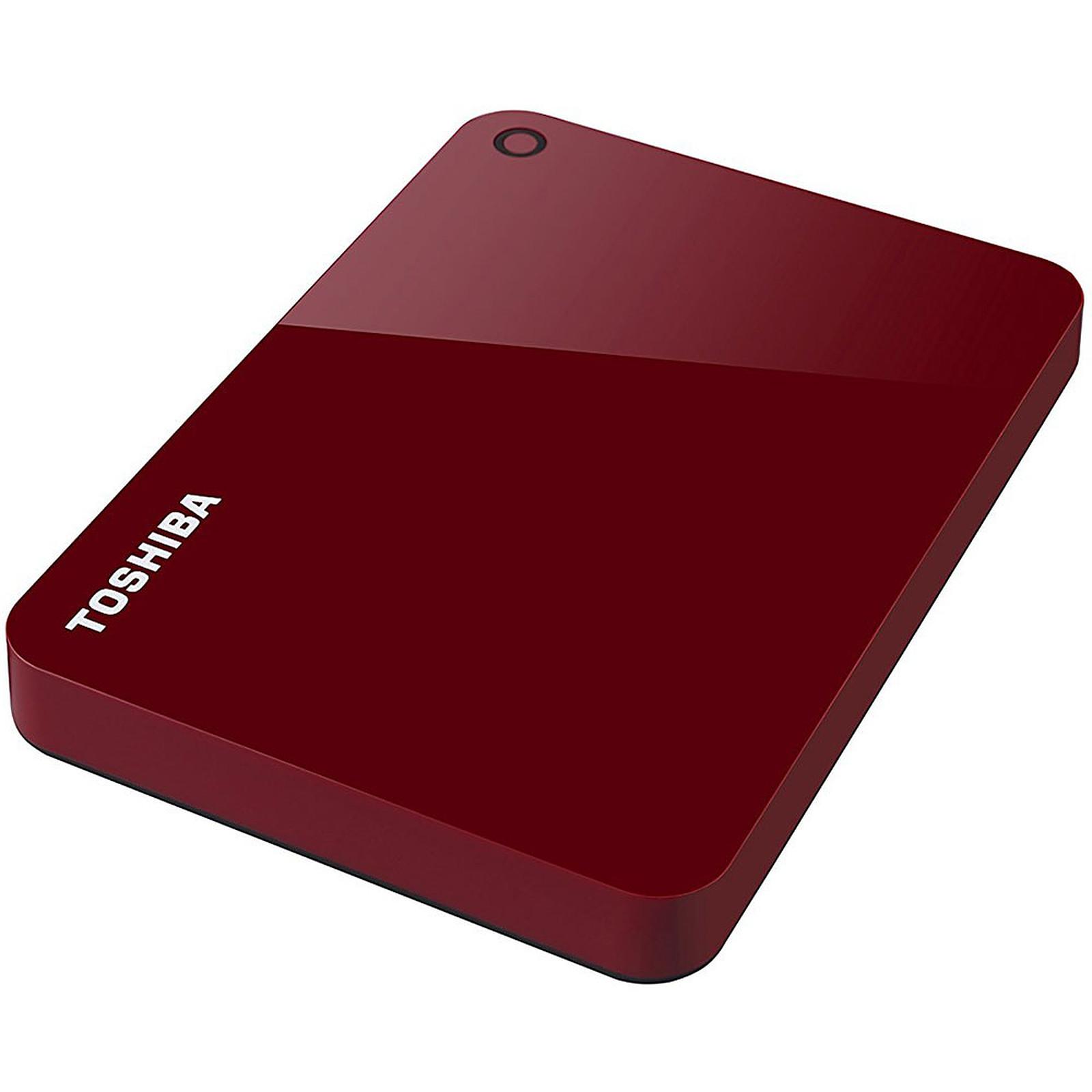 Toshiba Canvio Advance 3 To Rouge