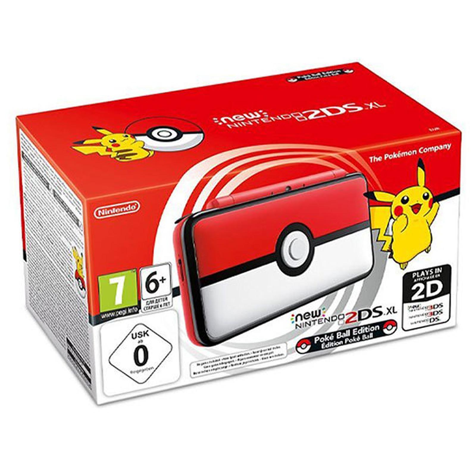 Nintendo New 2DS XL (Poké Ball Edition)