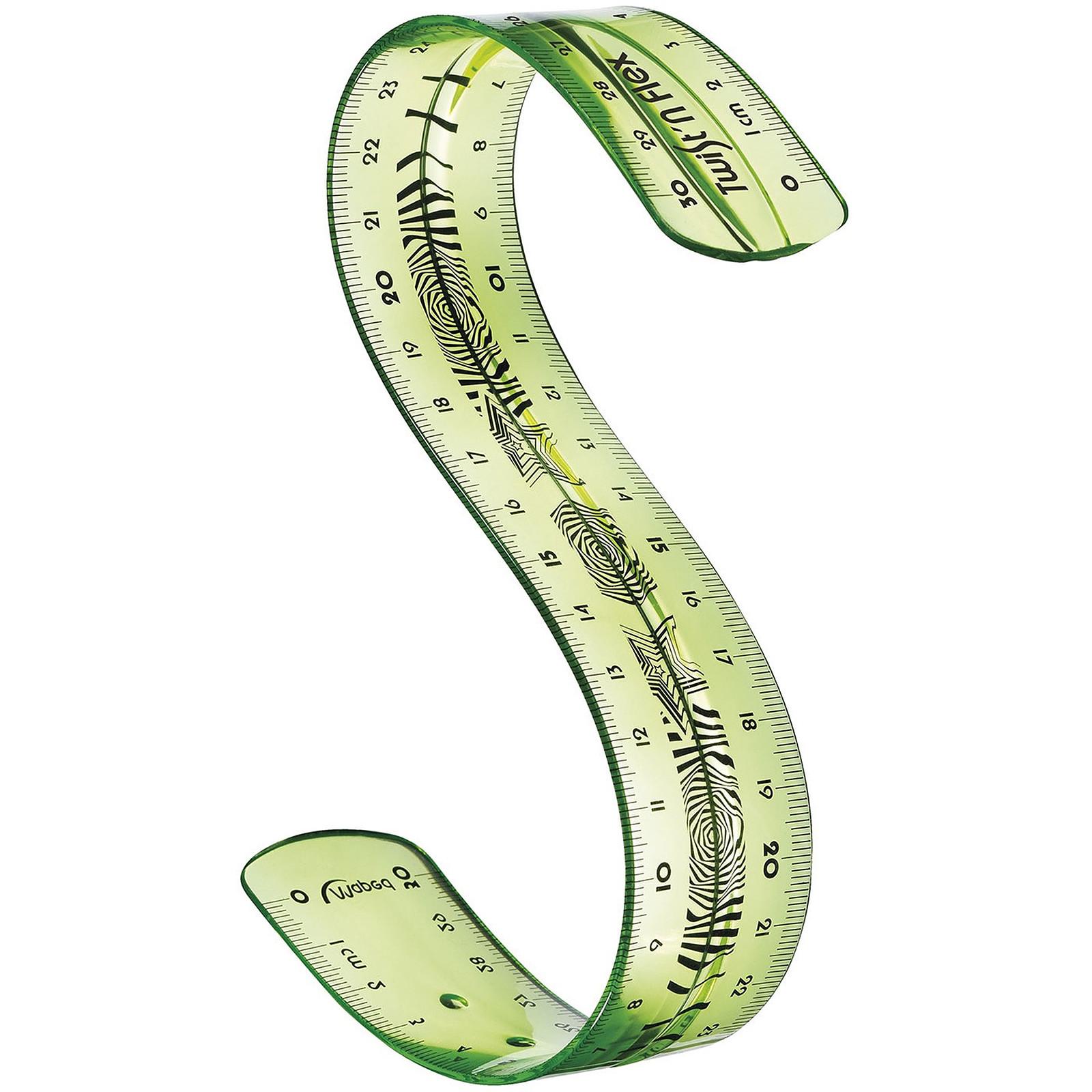 Maped Règle 30 cm Twist'n Flex