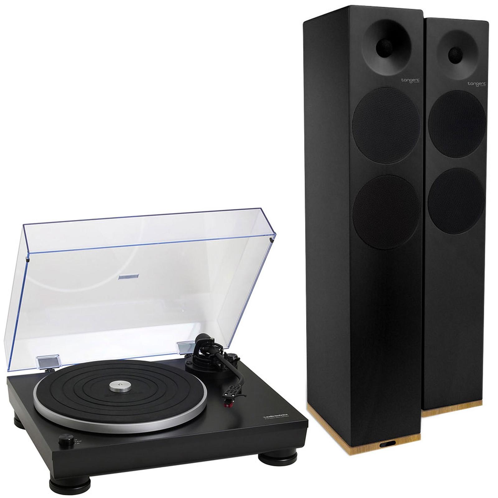 Audio-Technica AT-LP5 Noir + Tangent Spectrum X6 BT Noir