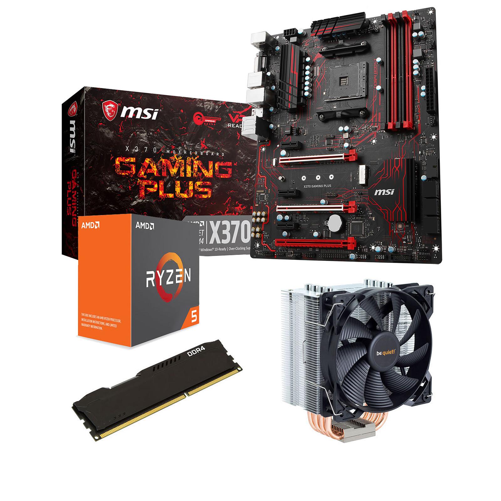 Kit Upgrade PC AMD Ryzen 5 1600X MSI X370 GAMING PLUS 8 Go