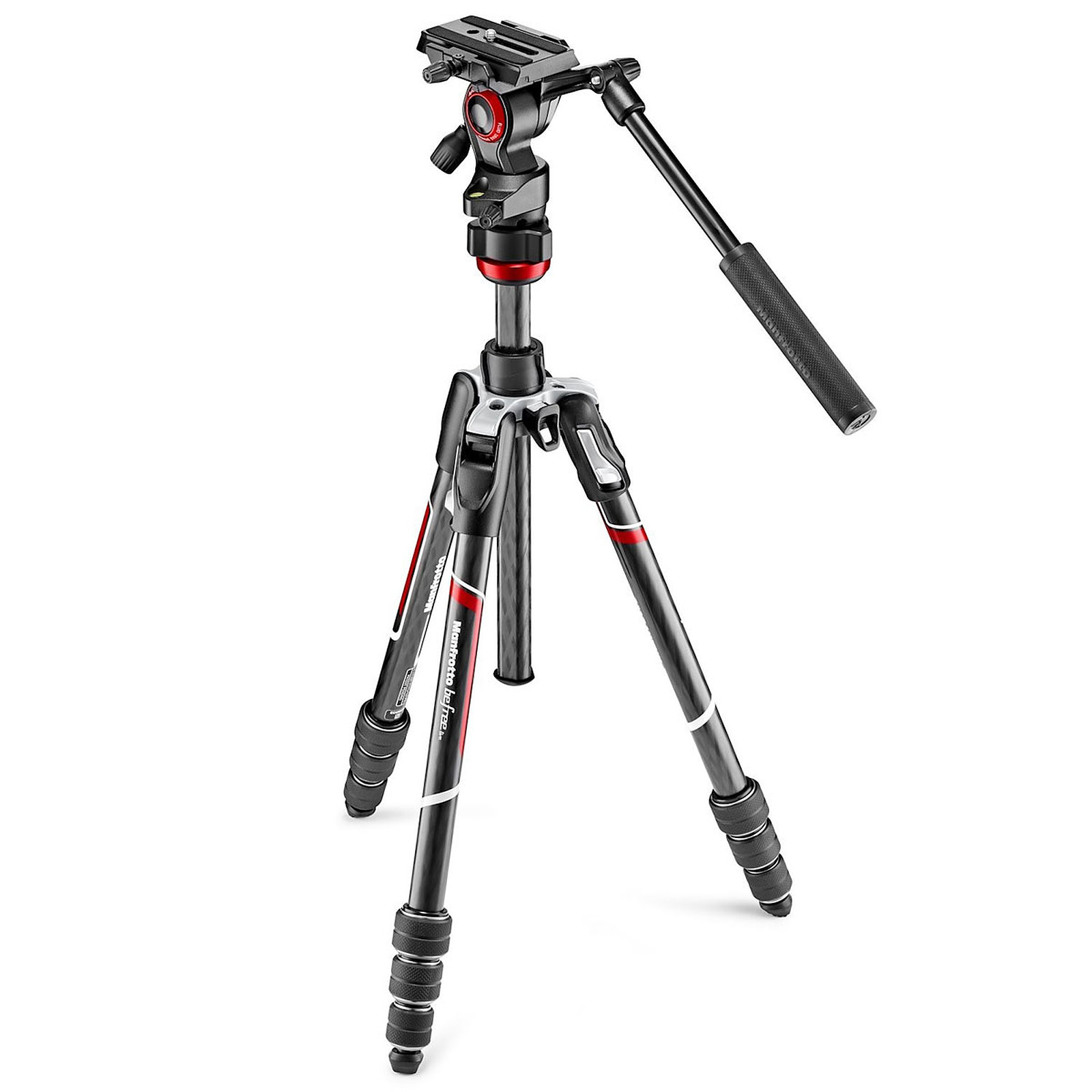 Manfrotto Befree Live - MVKBFRTC-LIVE Carbone/Noir