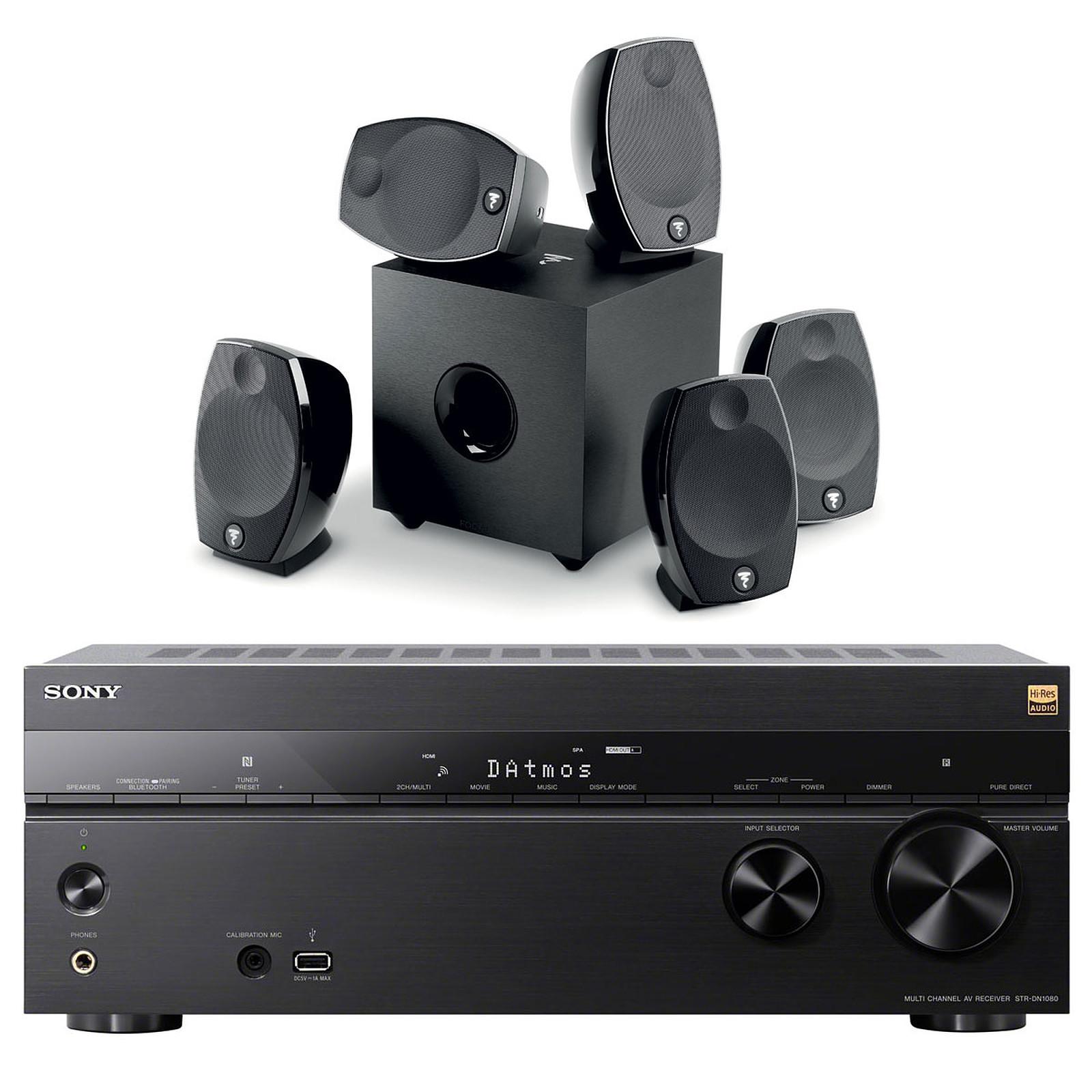 Sony STR-DN1080 + Focal Sib Evo 5.1