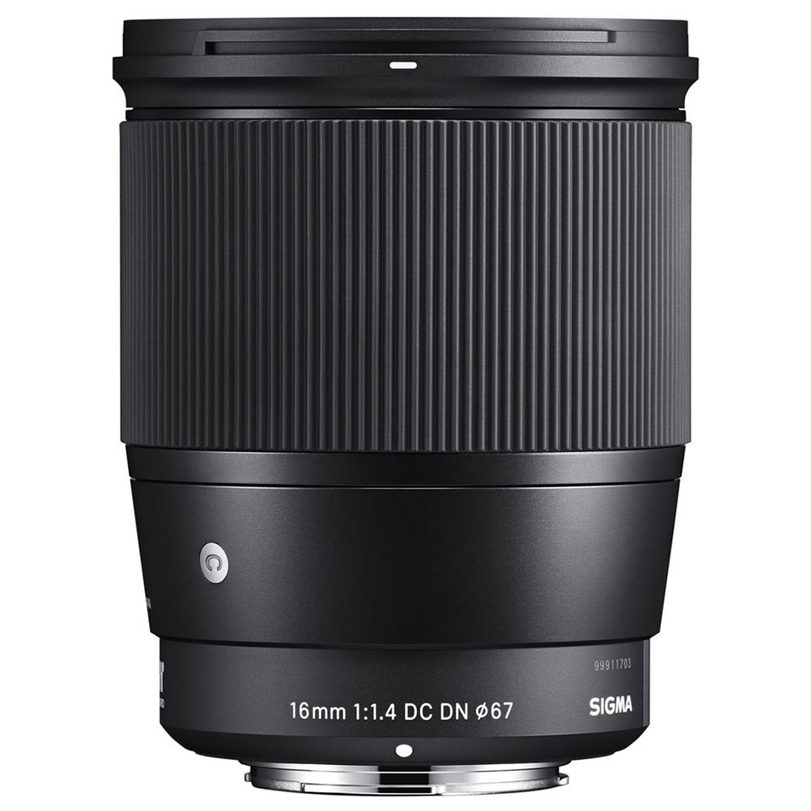 SIGMA 16mm F1.4 DC DN Noir monture Sony E