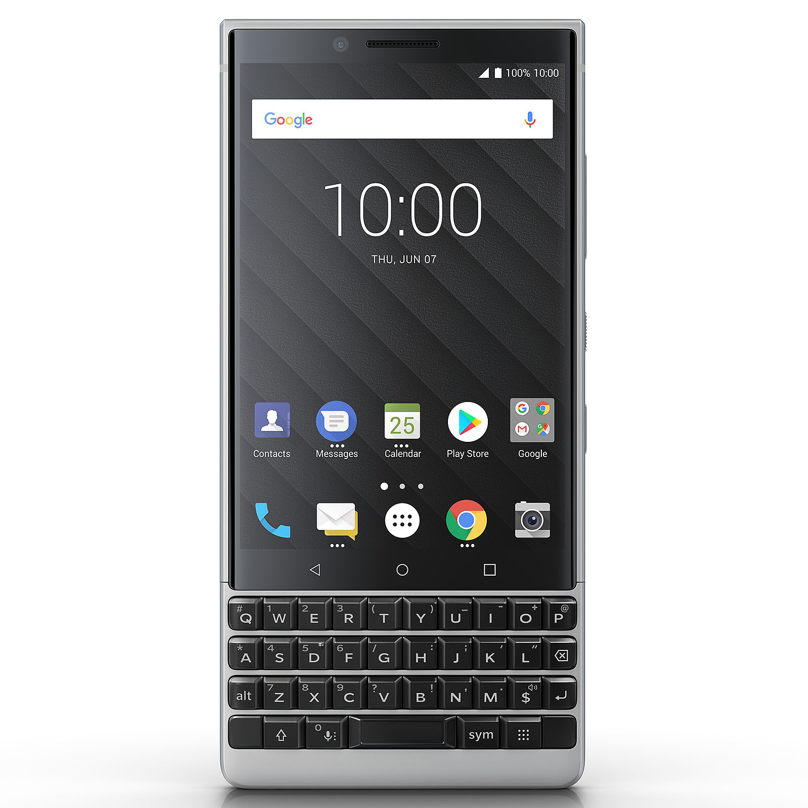 BlackBerry KEY2 Argent (6 Go / 64 Go)
