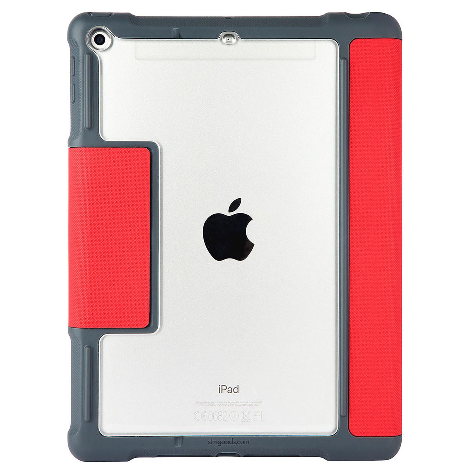 """STM Dux Plus iPad 9.7"""" (2017 / 2018) Rouge"""