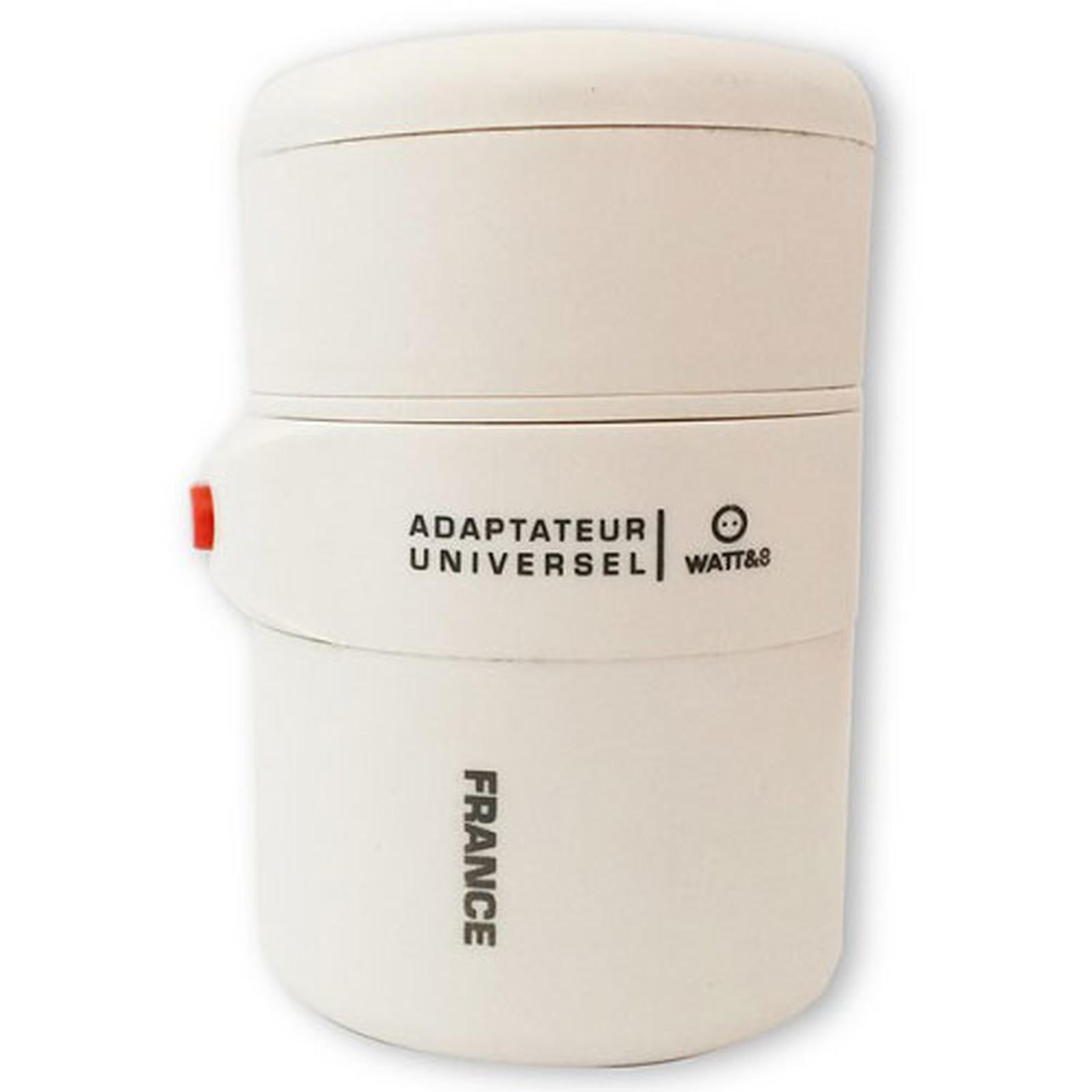 Watt&Co Adaptador universal de viaje