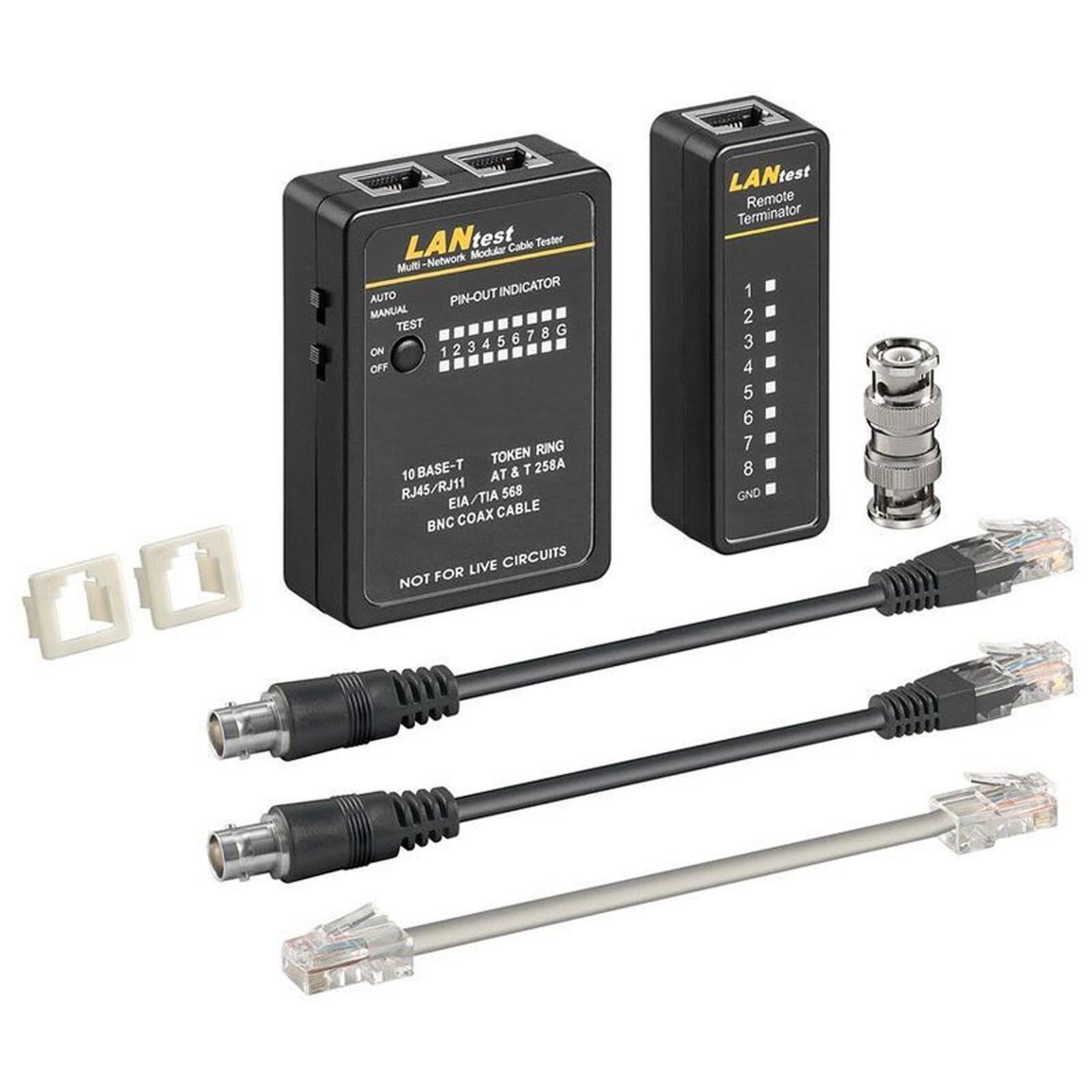 Goobay Kit de testeurs de câbles réseau