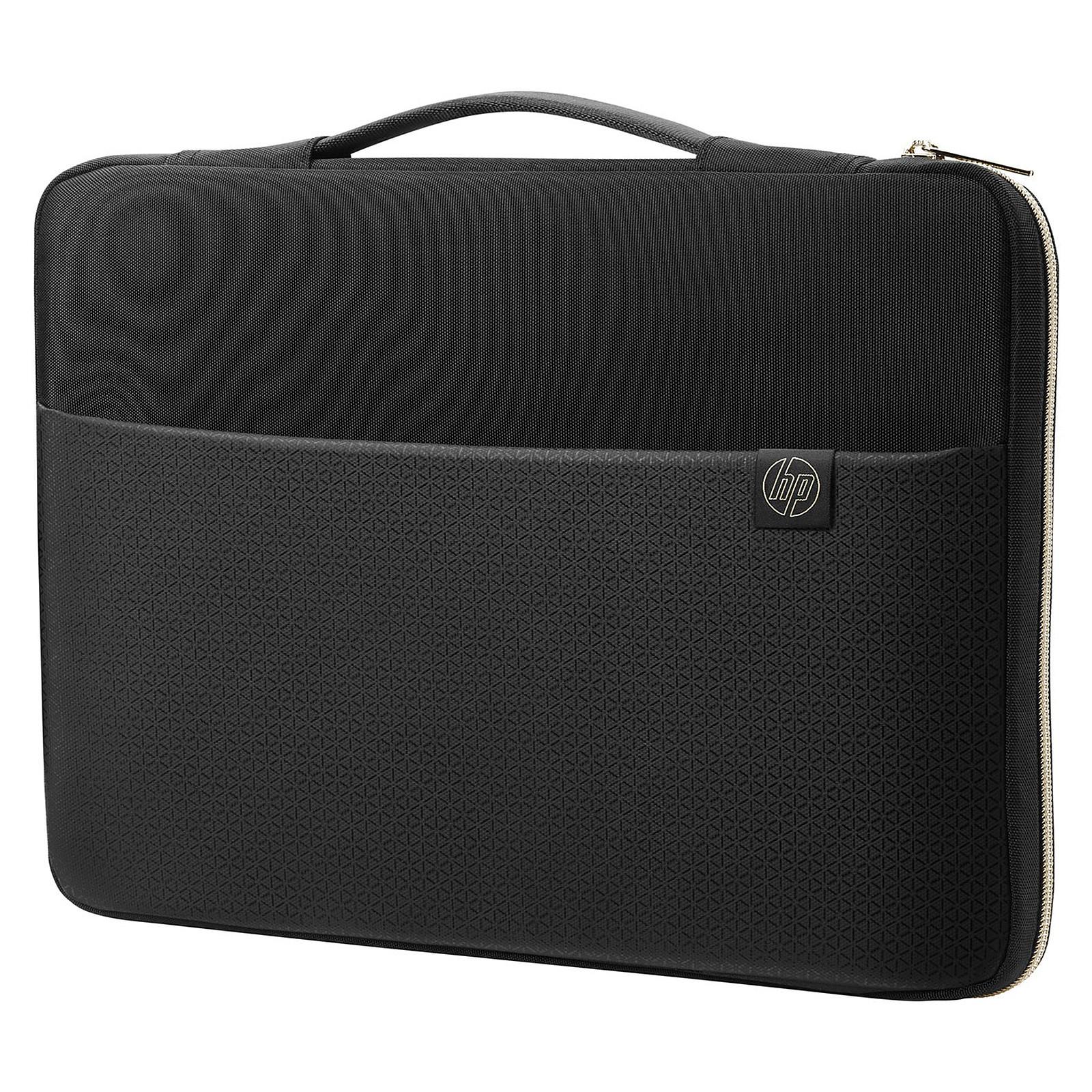 """HP Carry Sleeve 15"""" Noir/Or"""