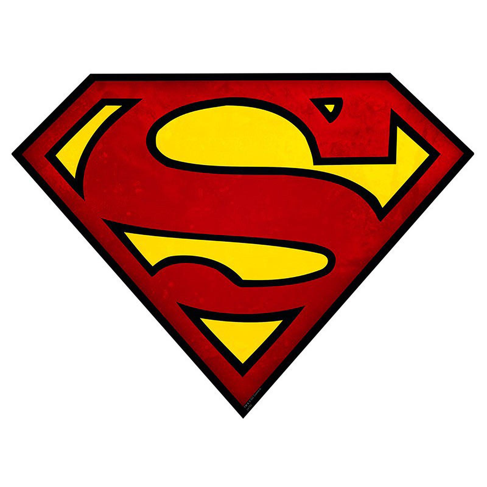 Tapis Superman Logo