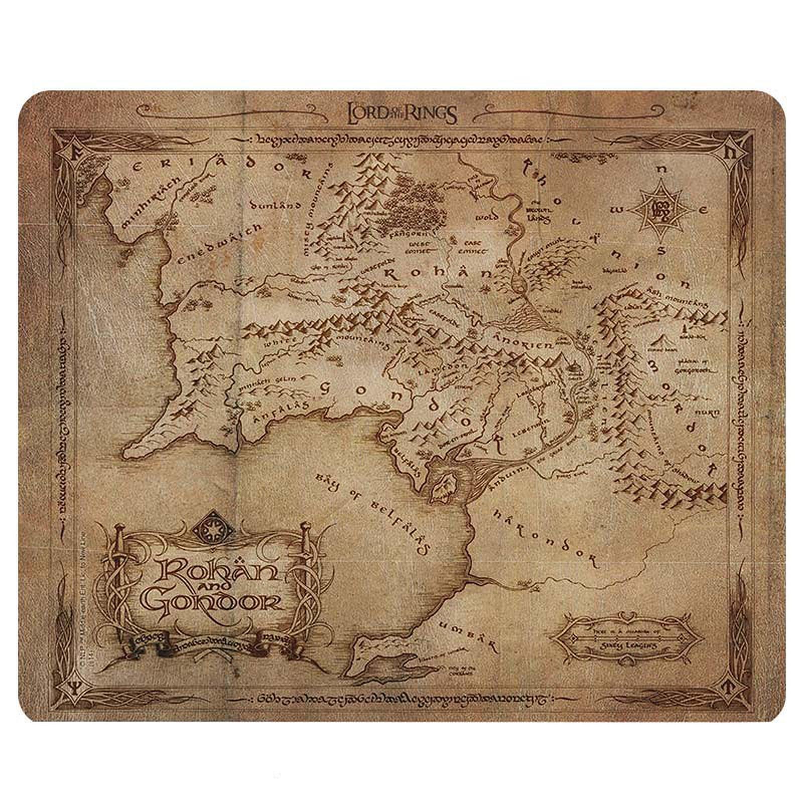 Alfombra El Señor de los Anillos - Rohan & Gondor Card