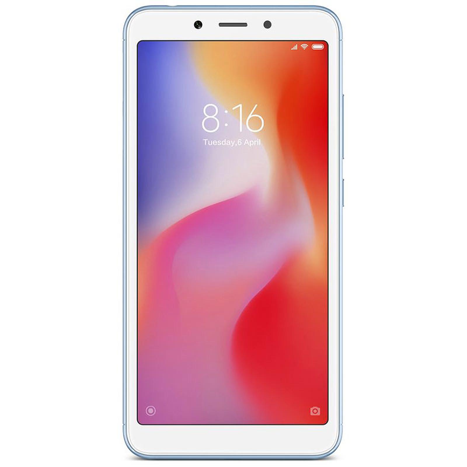 Xiaomi Redmi 6 Bleu (32 Go)