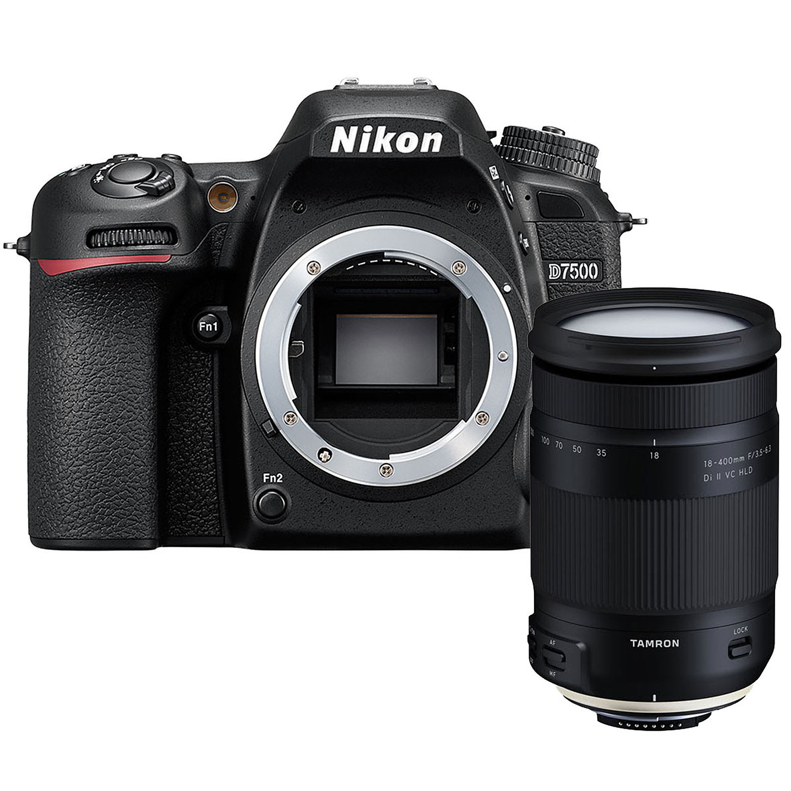 Nikon D7500 (boîtier nu) + Tamron 18-400mm f/3.5-6.3 Di II VC HLD