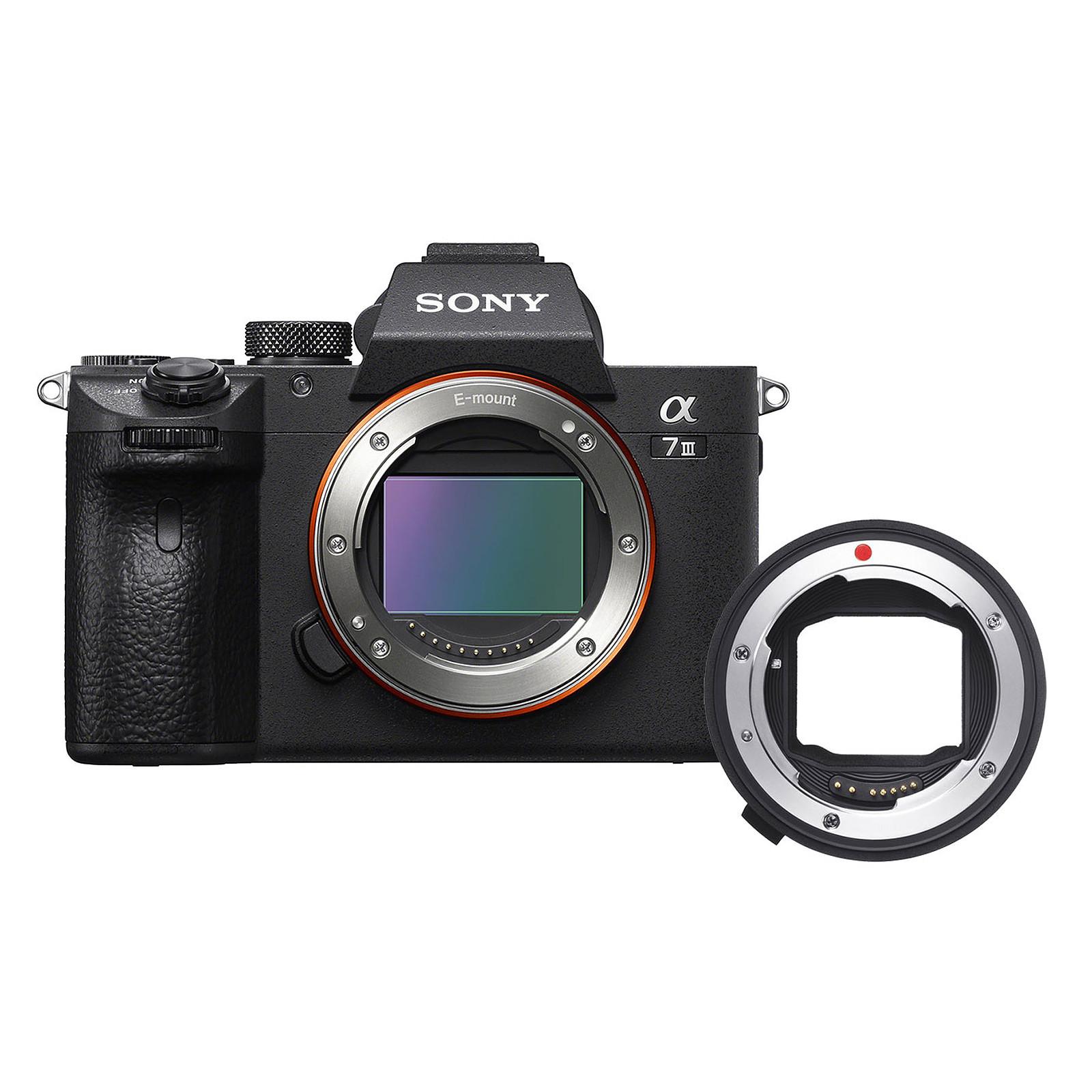 Sony Alpha 7 III + Sigma Convertisseur de monture MC-11