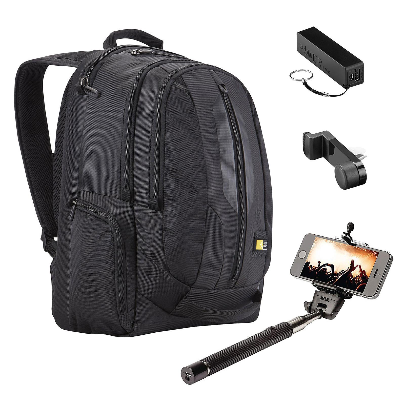 13135eca5c Case Logic RBP-217 + Kit Vacances OFFERT ! Sac à dos pour ordinateur  portable ...