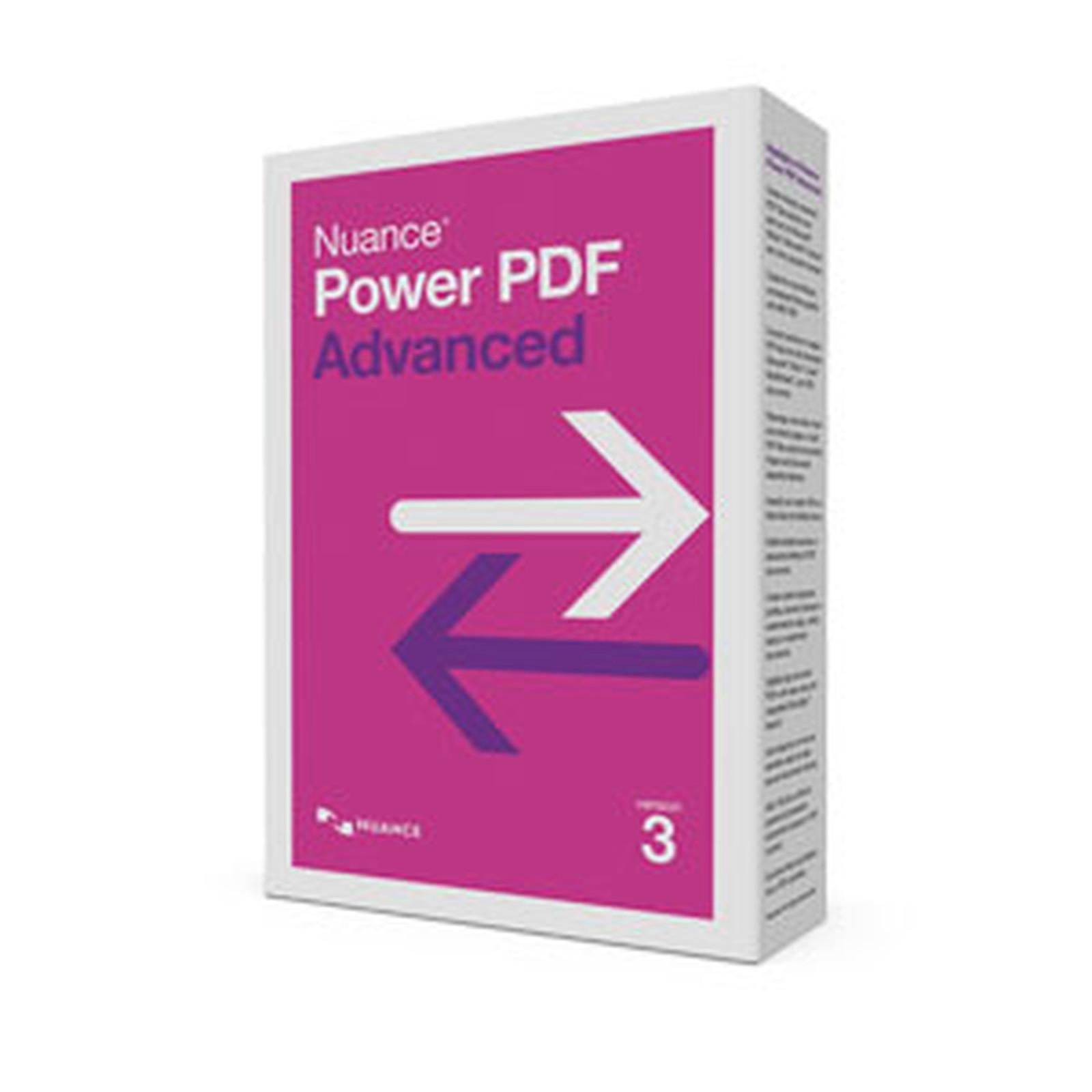 Nuance Power PDF Advanced version 3