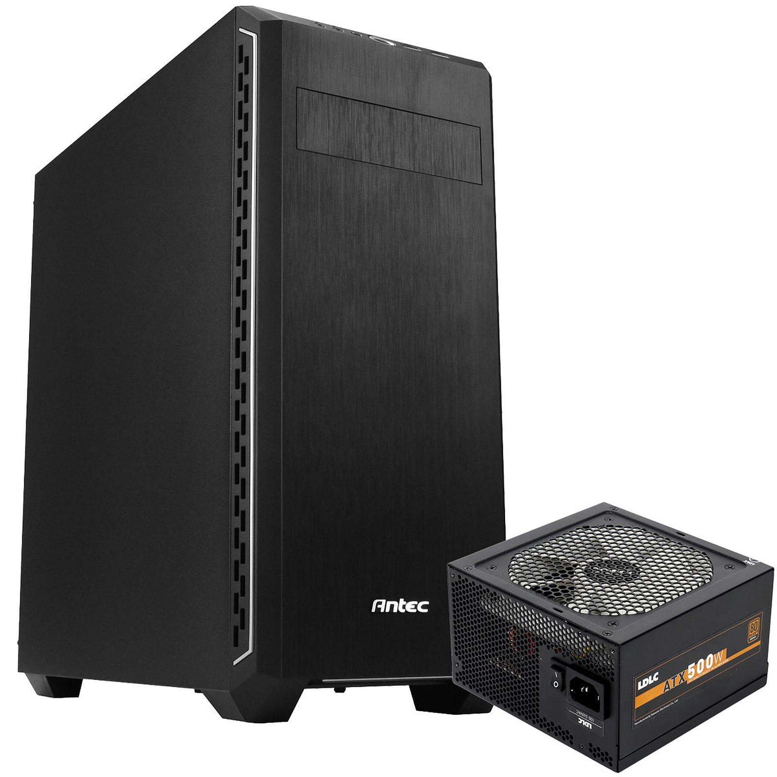 Antec P7 Silent + LDLC EC-500 Quality Select 80PLUS Bronze