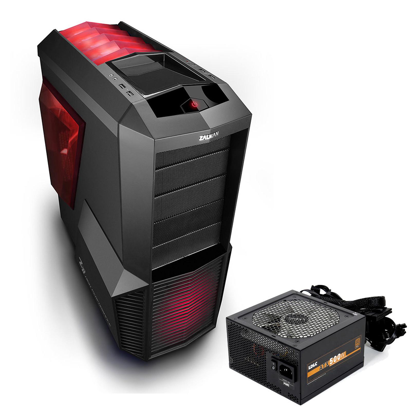 Zalman Z11 Plus HF1 + LDLC EC-500 Quality Select 80PLUS Bronze